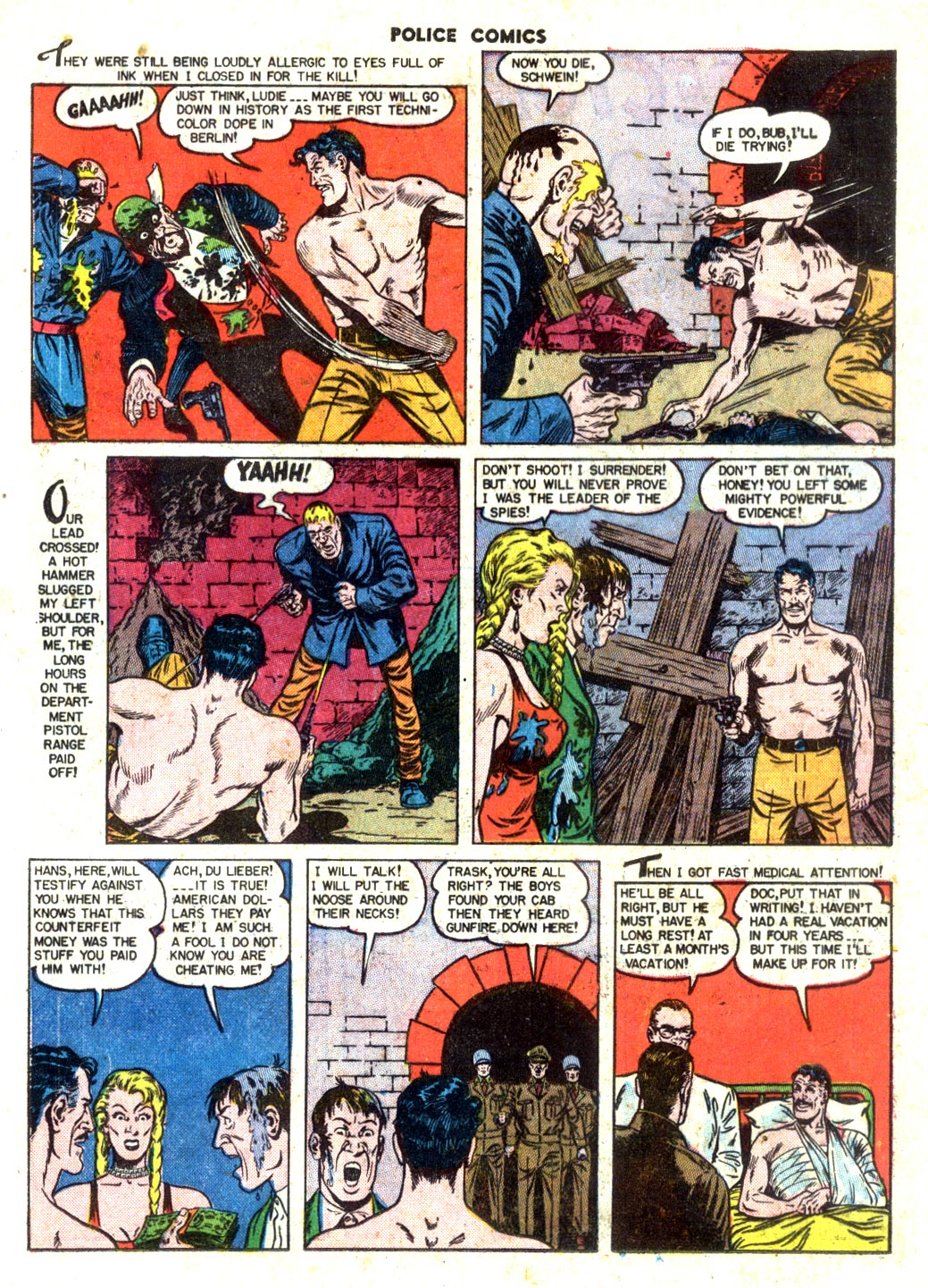 Police Comics issue 105 - Page 25