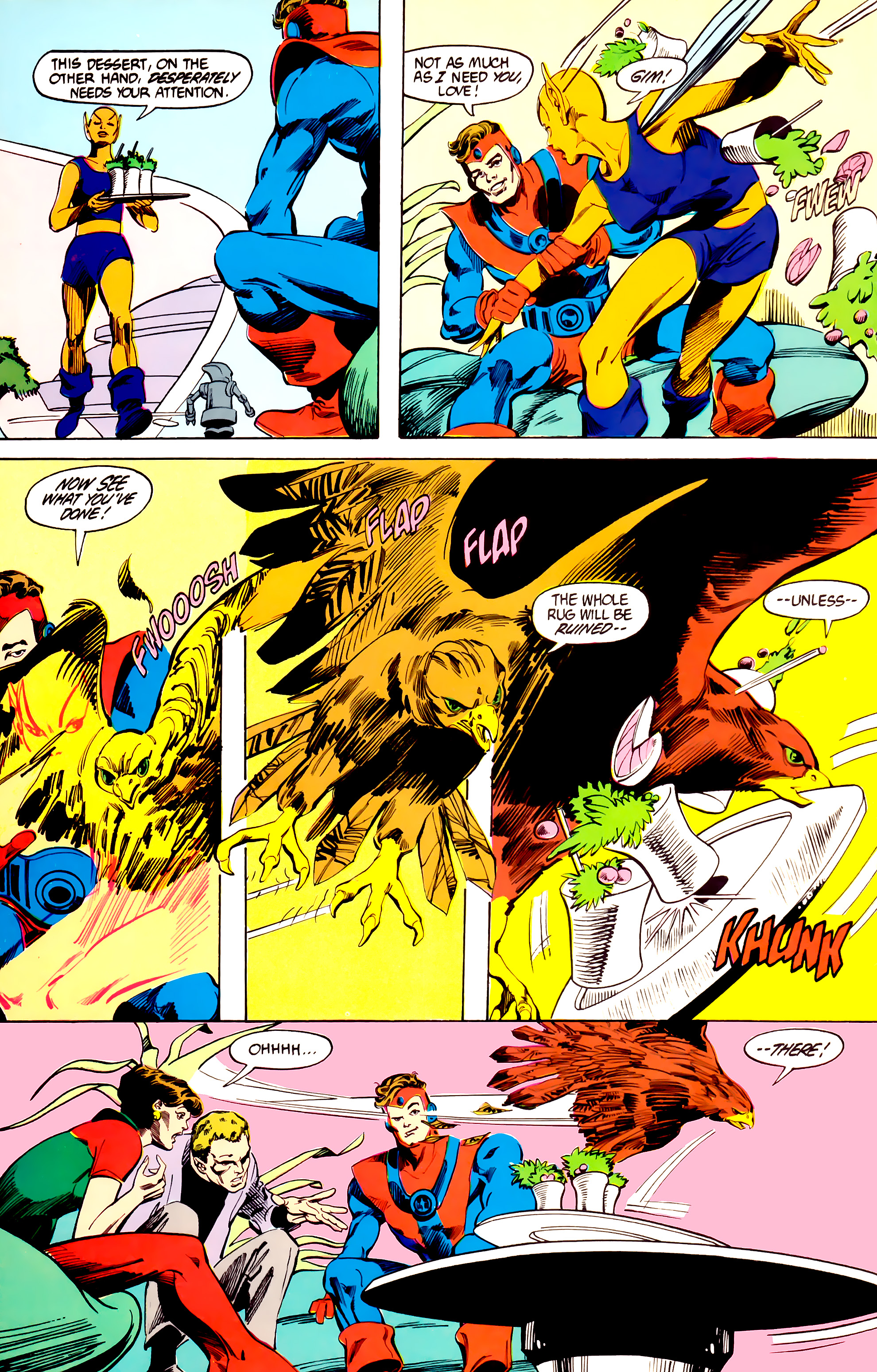 Legion of Super-Heroes (1984) 27 Page 21