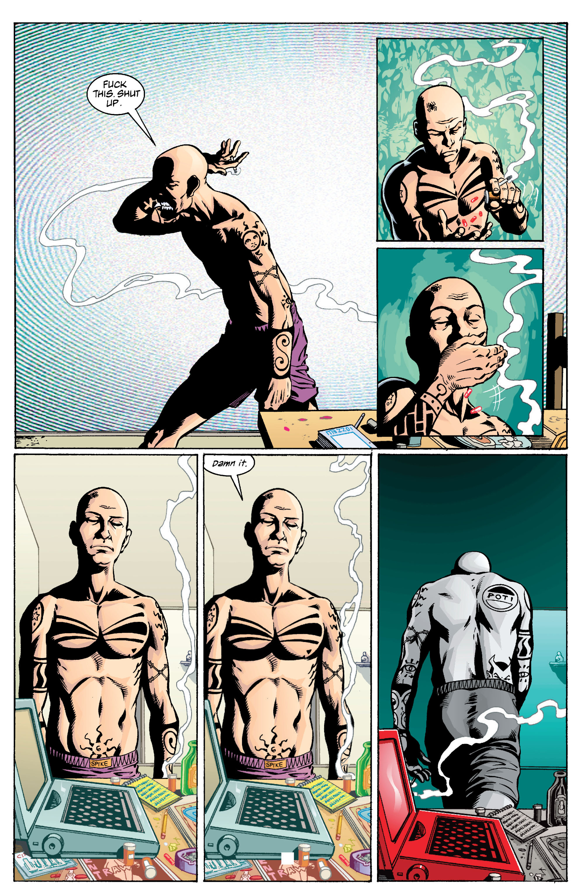 Read online Transmetropolitan comic -  Issue #13 - 15