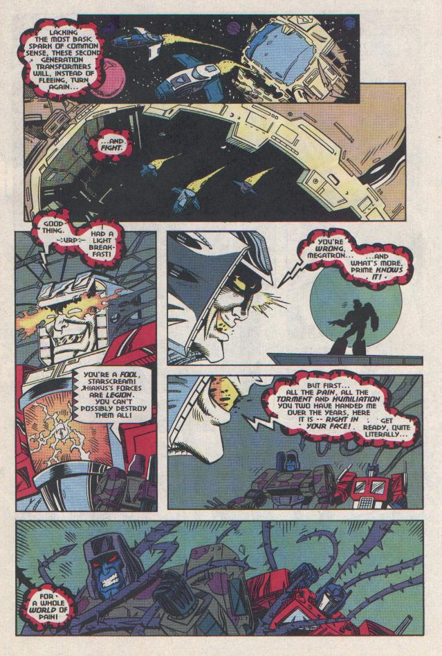 Read online Transformers: Generation 2 comic -  Issue #11 - 4