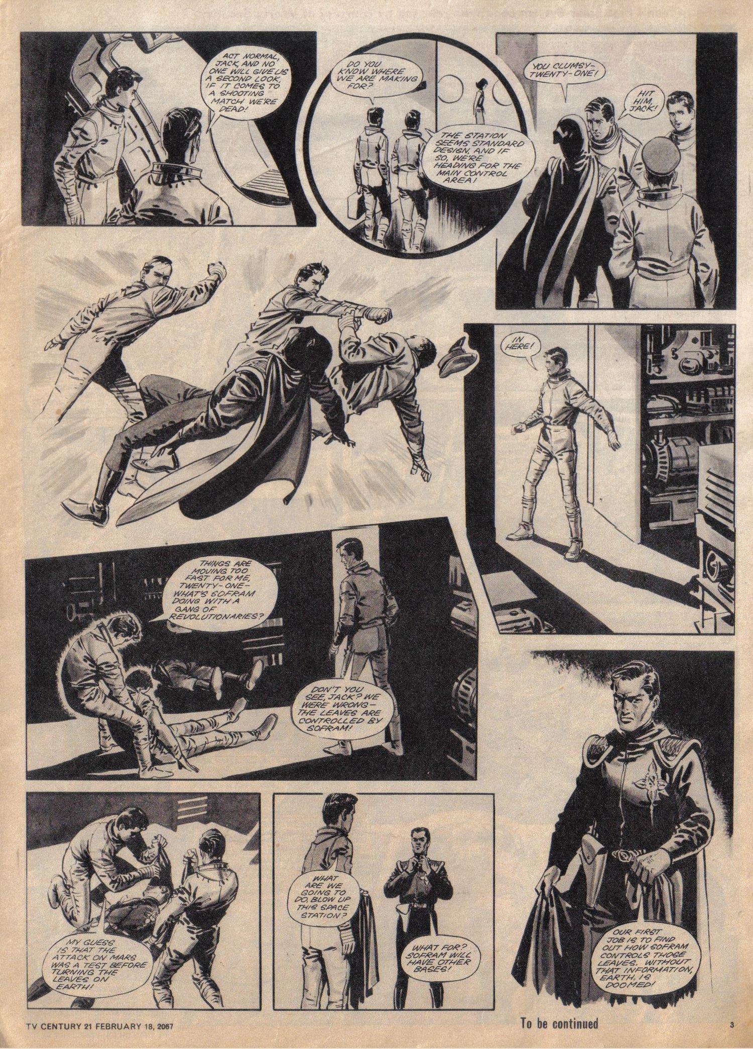 Read online TV Century 21 (TV 21) comic -  Issue #109 - 3