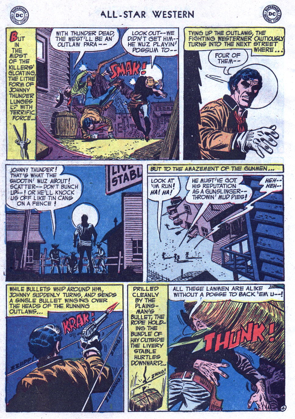 Read online All-Star Western (1951) comic -  Issue #71 - 6