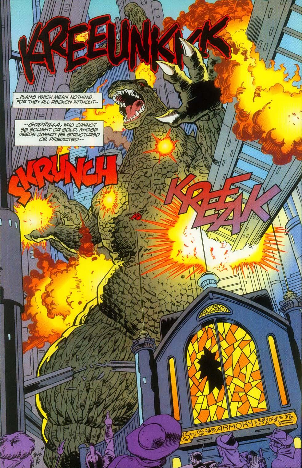Godzilla (1995) Issue #12 #13 - English 22