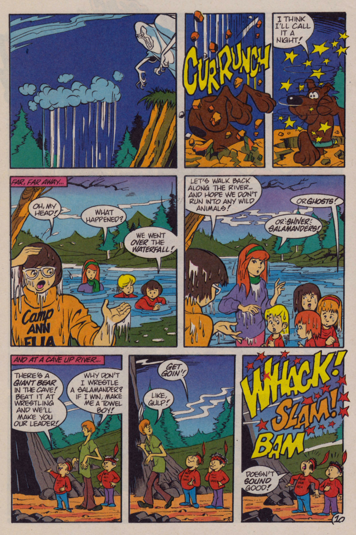 Read online Scooby-Doo (1995) comic -  Issue #11 - 12