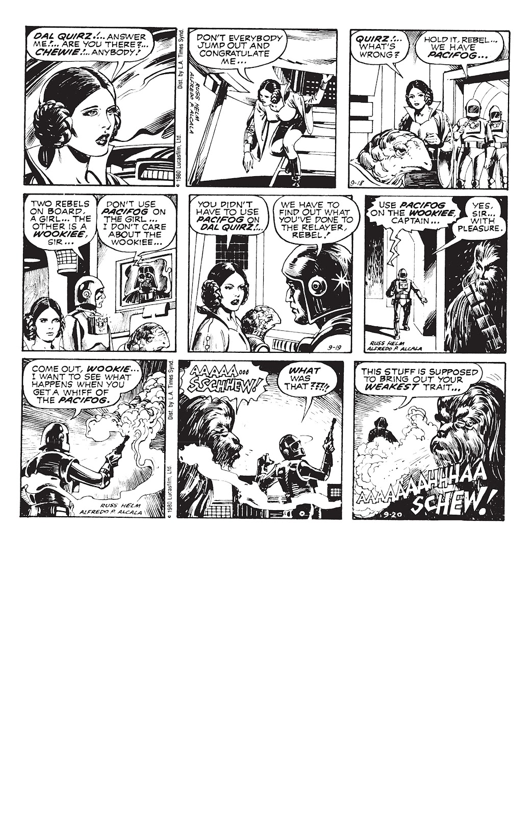 Read online Star Wars Legends: The Newspaper Strips - Epic Collection comic -  Issue # TPB (Part 3) - 97