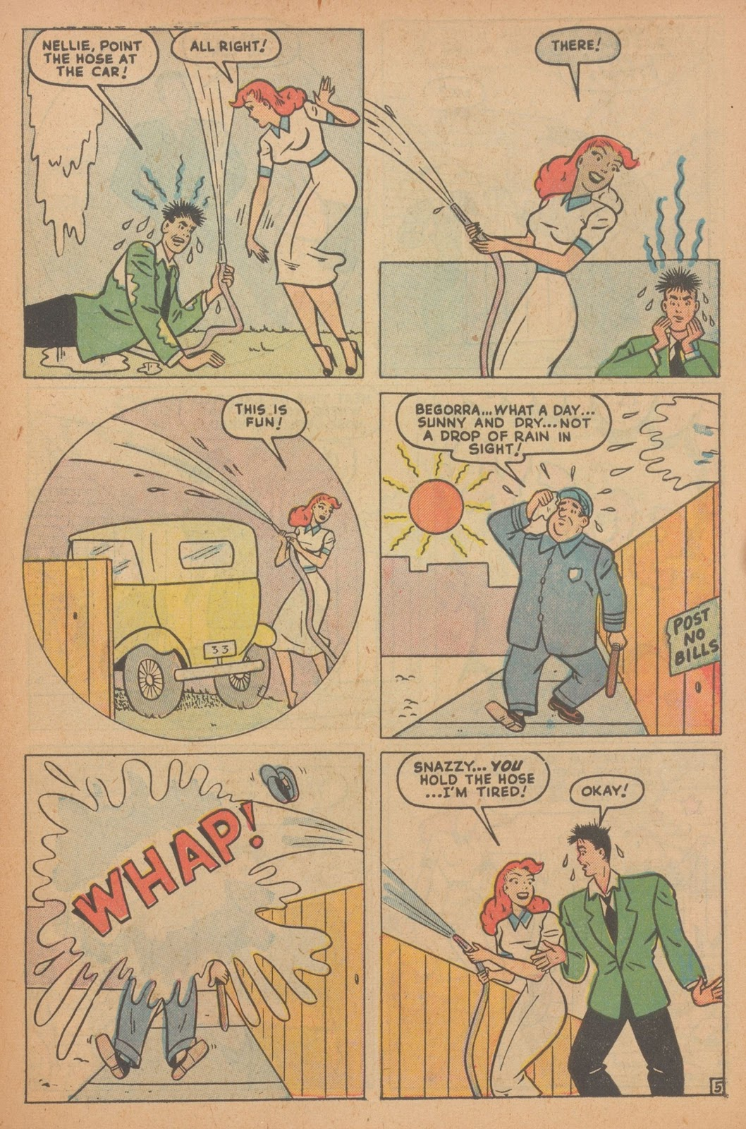 Read online Nellie The Nurse (1945) comic -  Issue #22 - 45