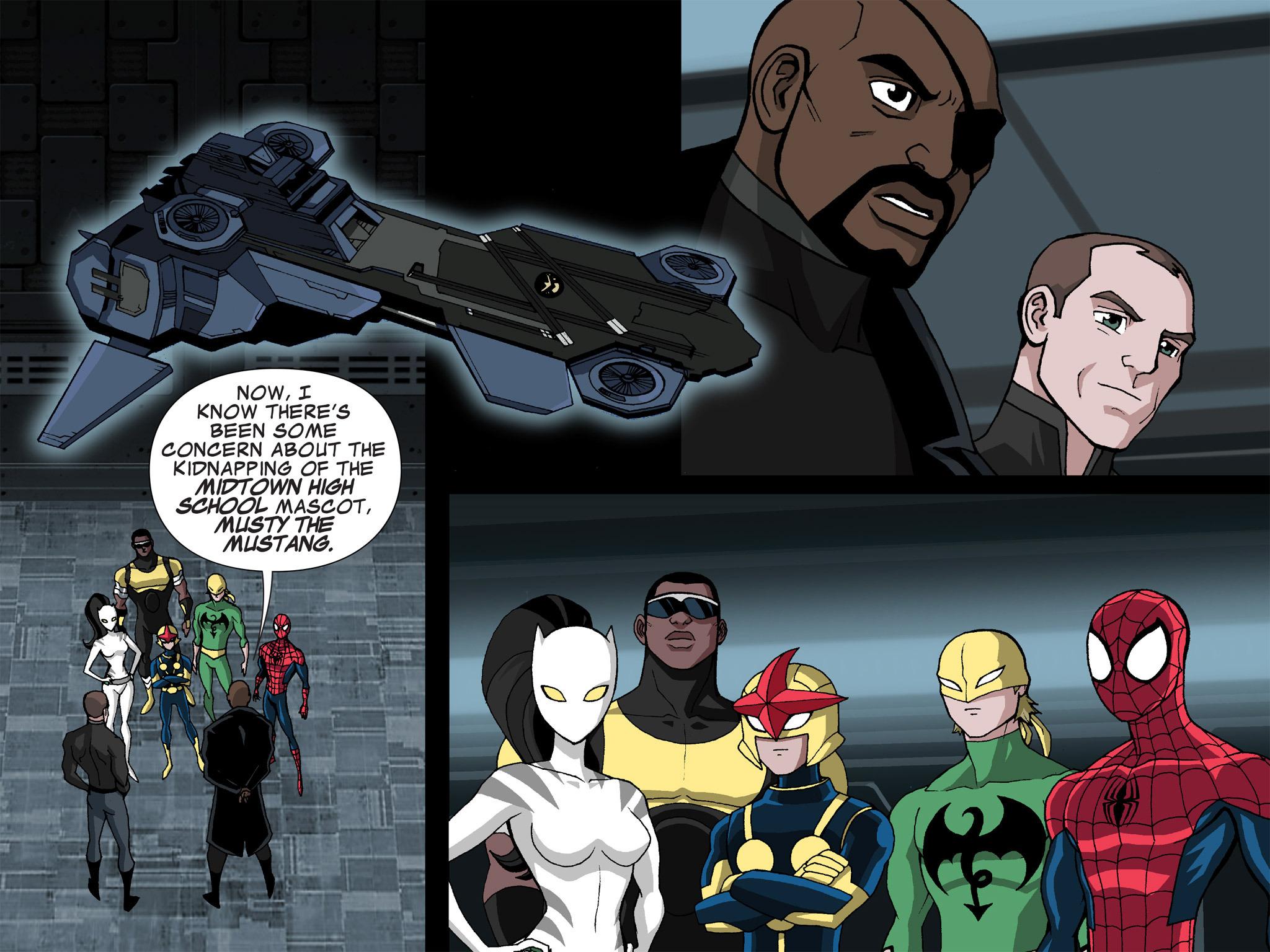 Read online Ultimate Spider-Man (Infinite Comics) (2015) comic -  Issue #21 - 3