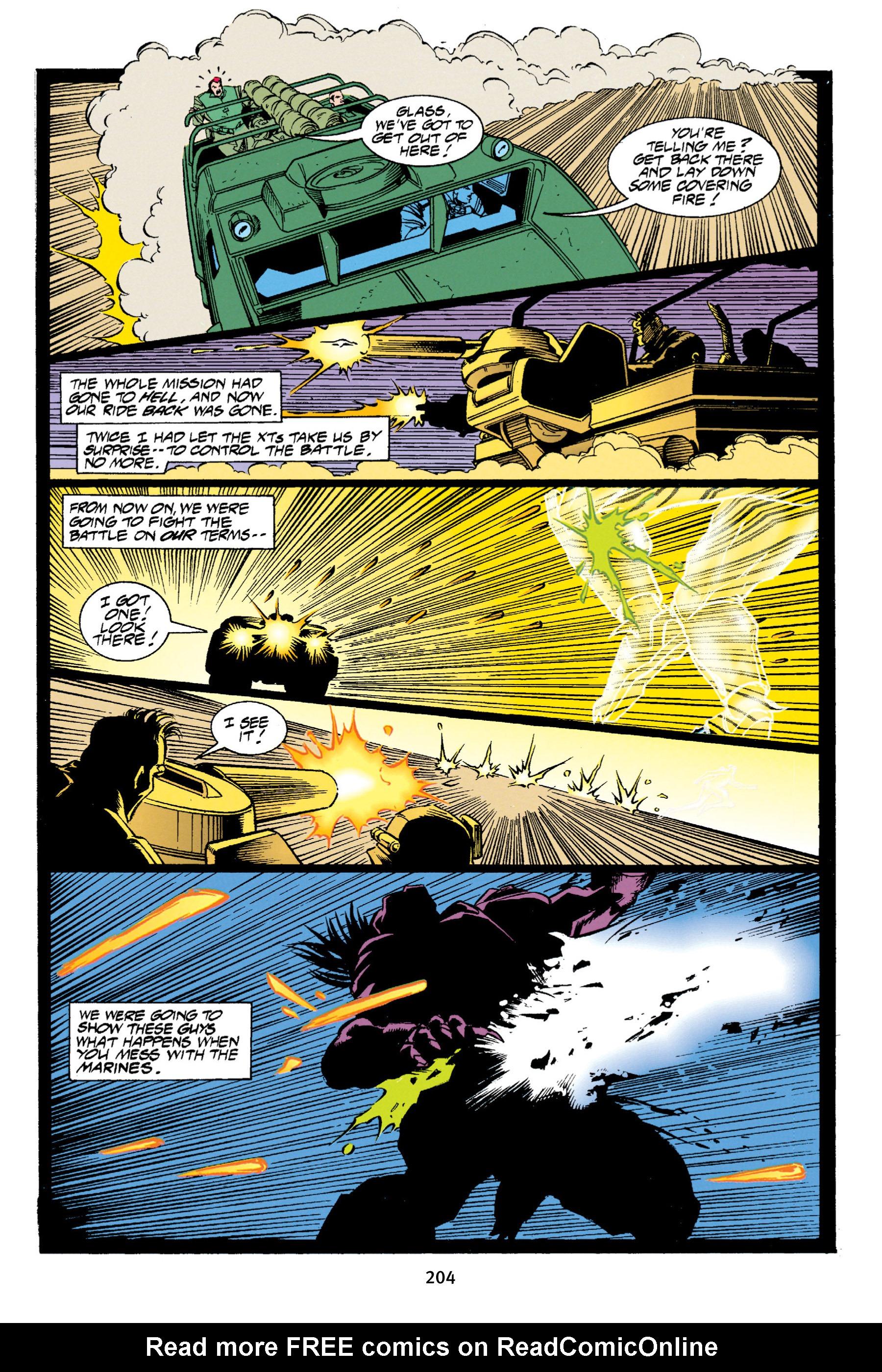 Read online Aliens vs. Predator Omnibus comic -  Issue # _TPB 1 Part 2 - 100