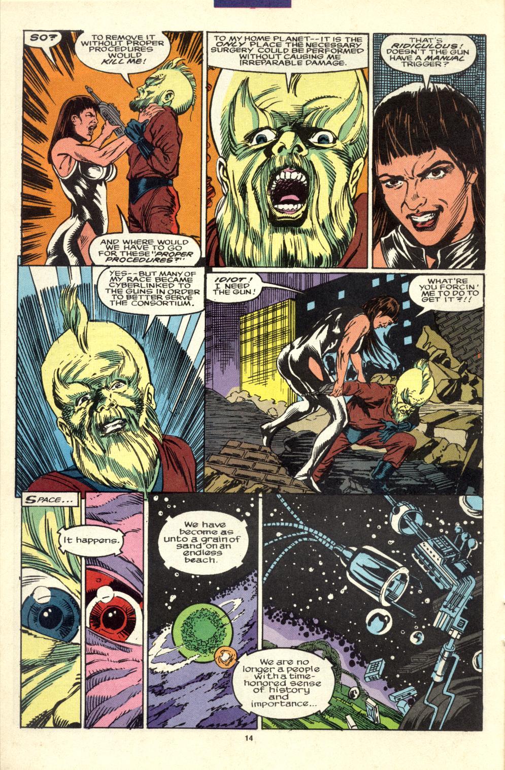 Read online Alpha Flight (1983) comic -  Issue #99 - 12