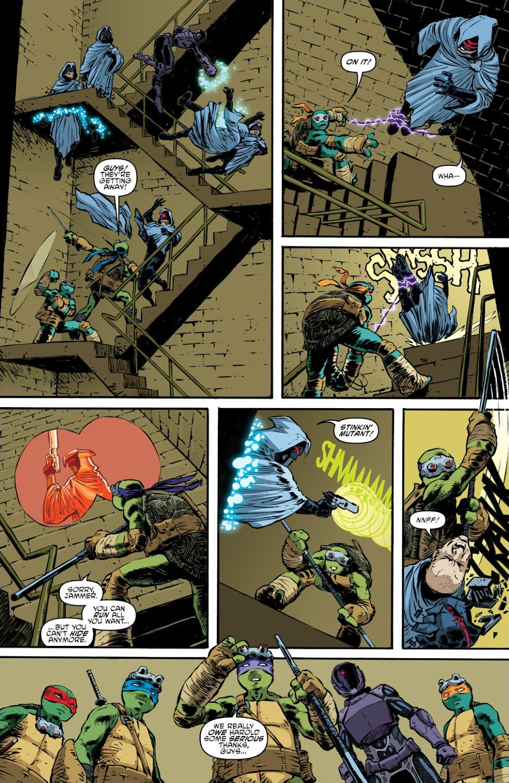 Read online Teenage Mutant Ninja Turtles: The IDW Collection comic -  Issue # TPB 7 (Part 3) - 104