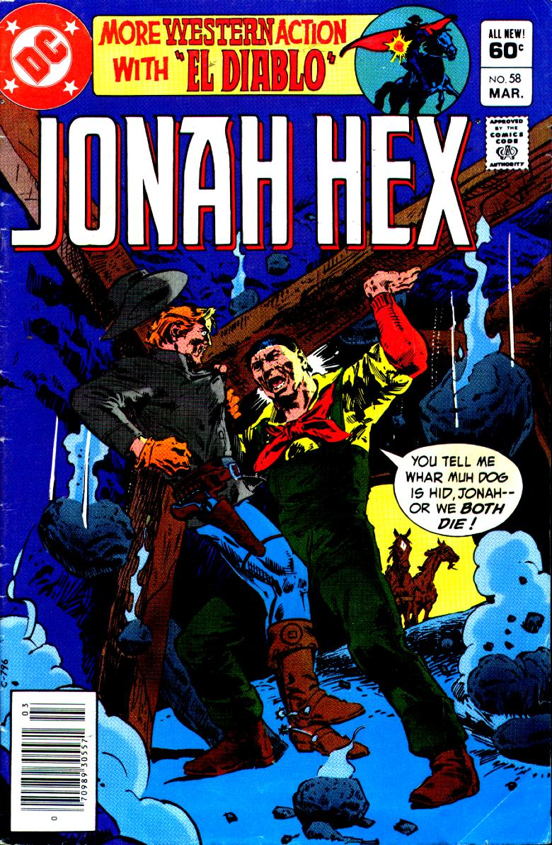 Jonah Hex (1977) 58 Page 1