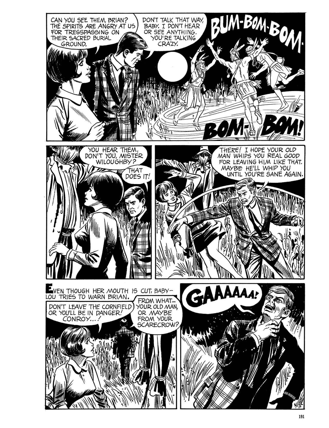 Read online Eerie Archives comic -  Issue # TPB 5 - 192