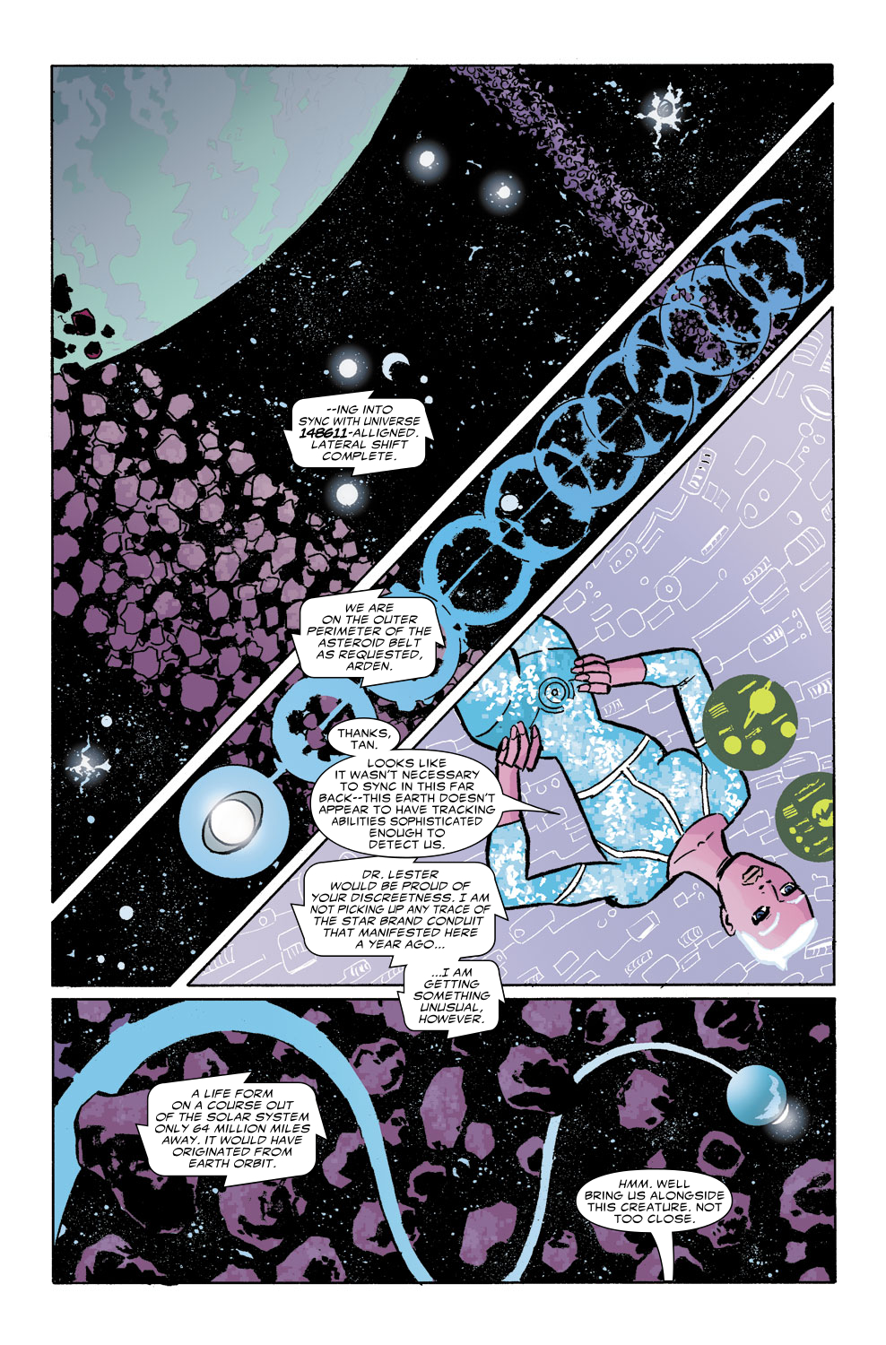 Read online Untold Tales Of The New Universe: Star Brand comic -  Issue # Full - 3
