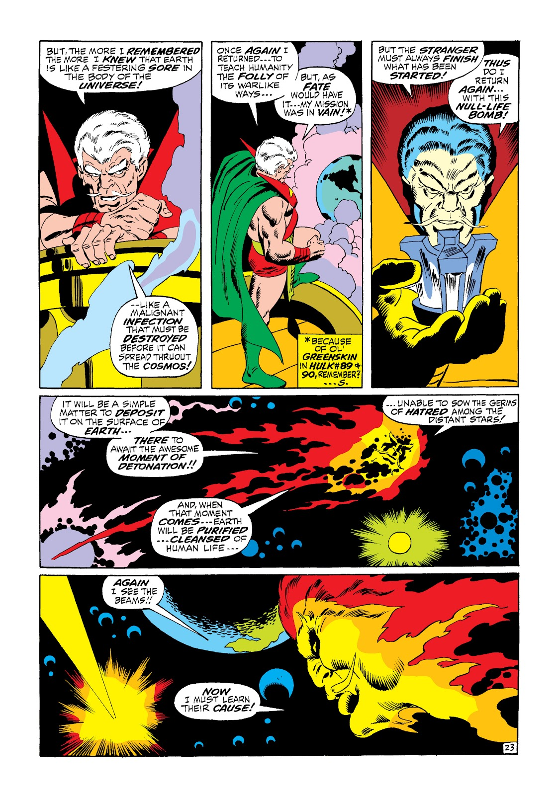 Read online Marvel Masterworks: The Silver Surfer comic - Issue # TPB 1 (Part 2) - 91