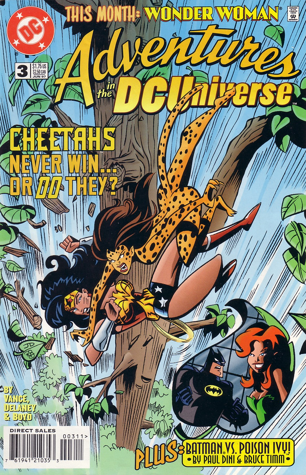 Read online Adventures in the DC Universe comic -  Issue #3 - 1
