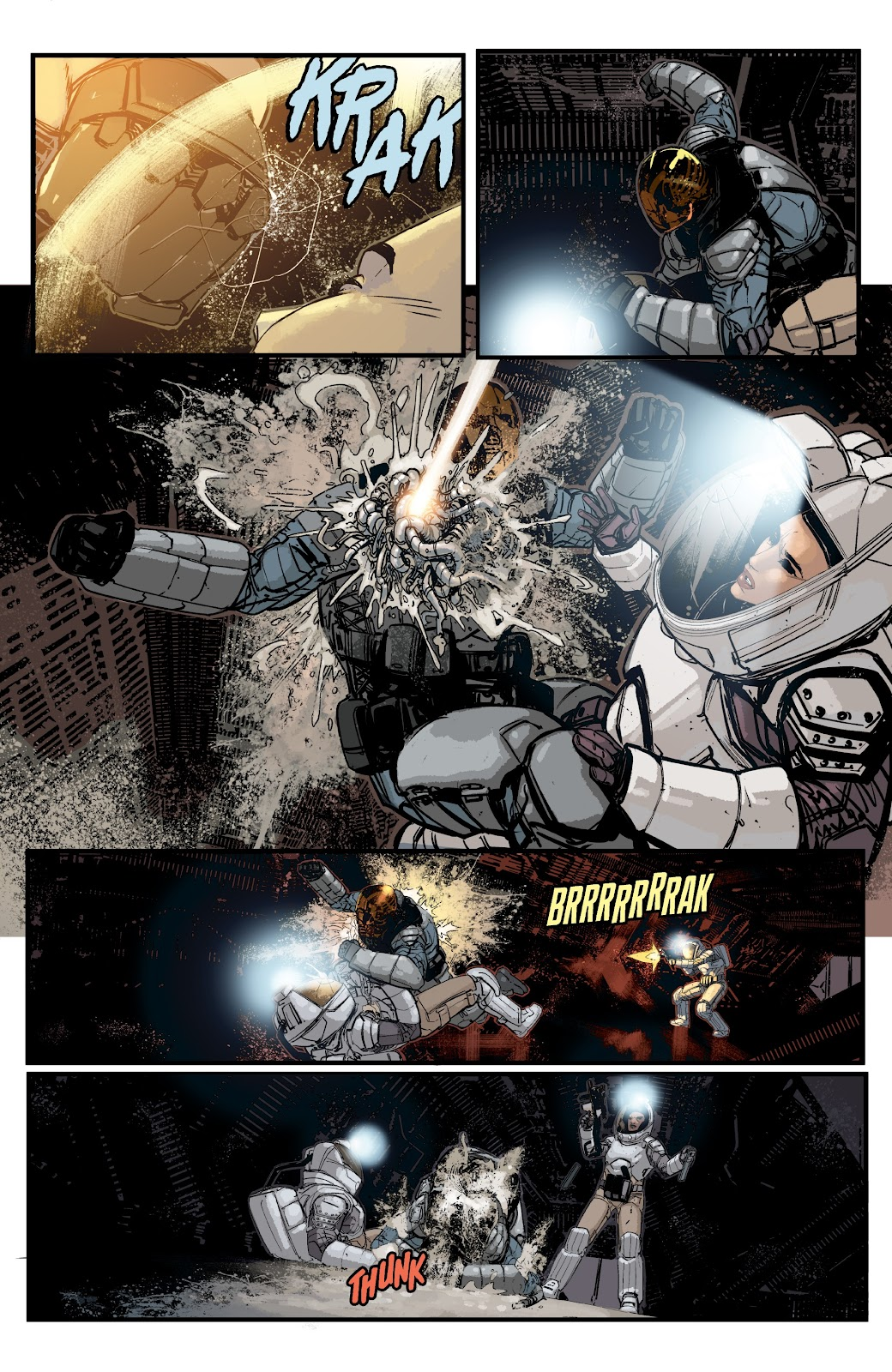 Read online Aliens: Resistance comic -  Issue #2 - 12
