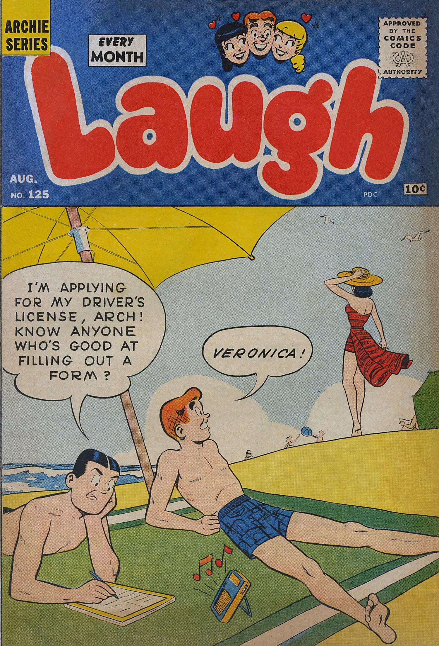 Laugh (Comics) 125 Page 1