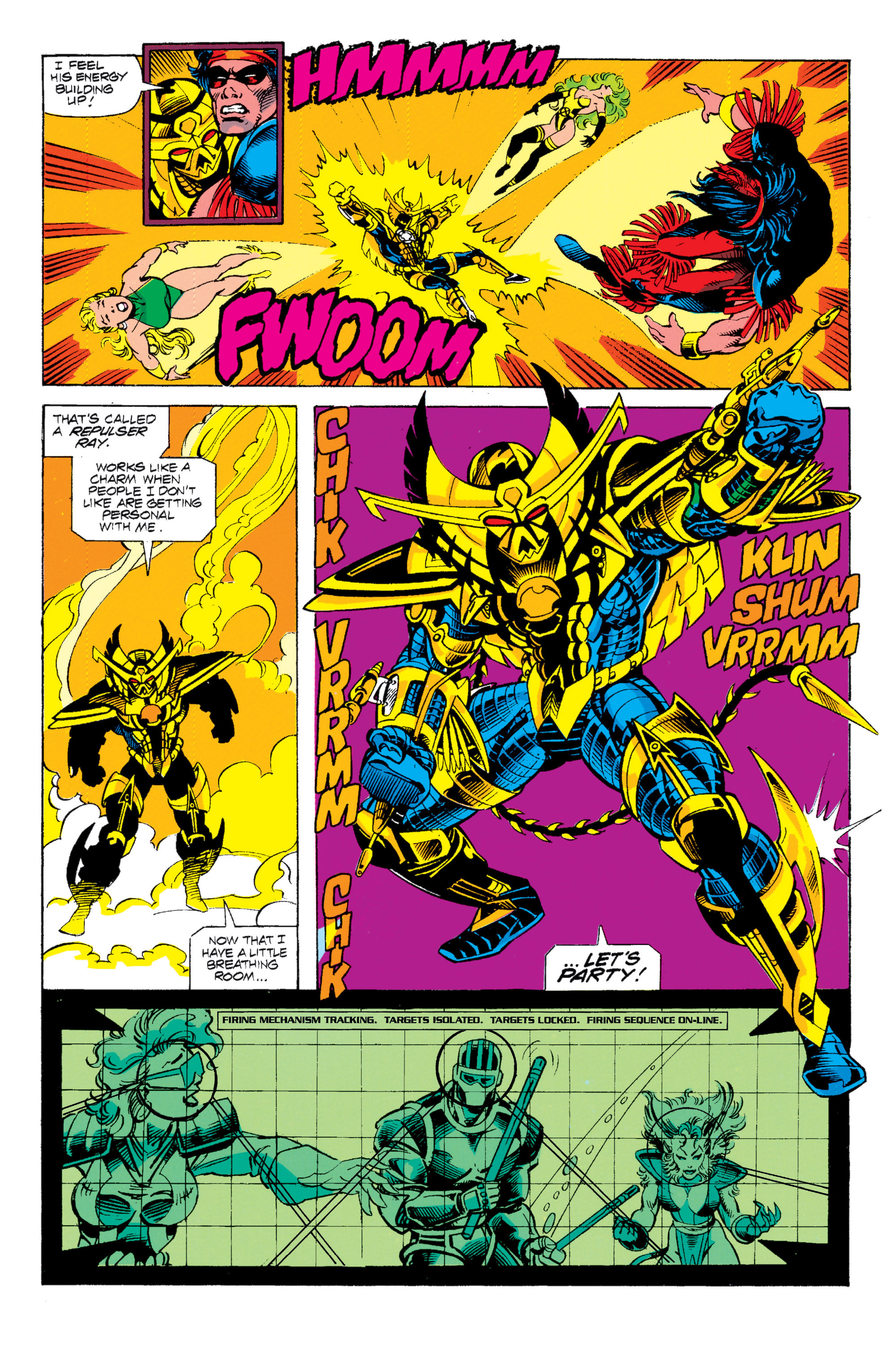 Read online Uncanny X-Men (1963) comic -  Issue # _Annual 15 - 22