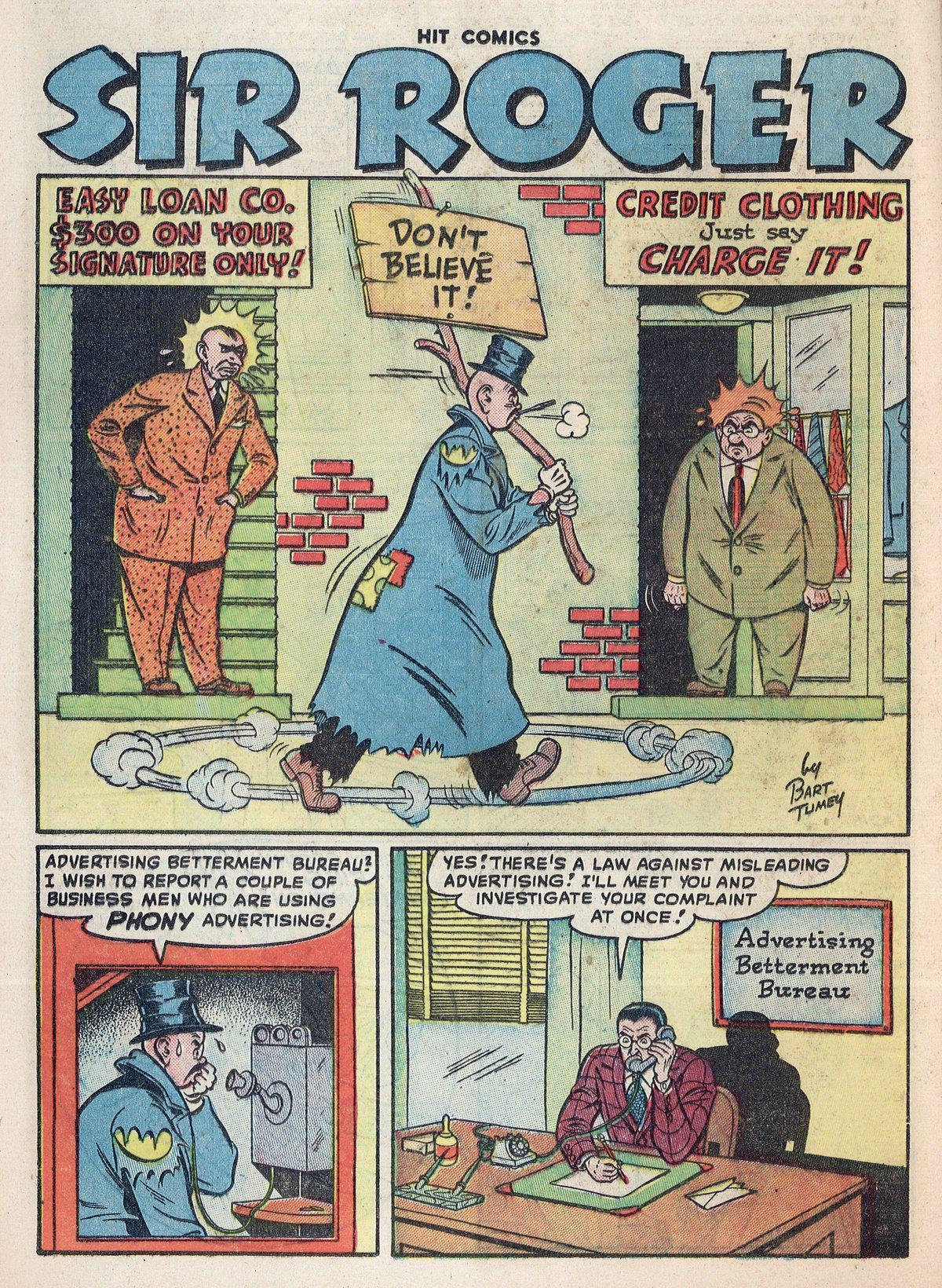 Read online Hit Comics comic -  Issue #55 - 32