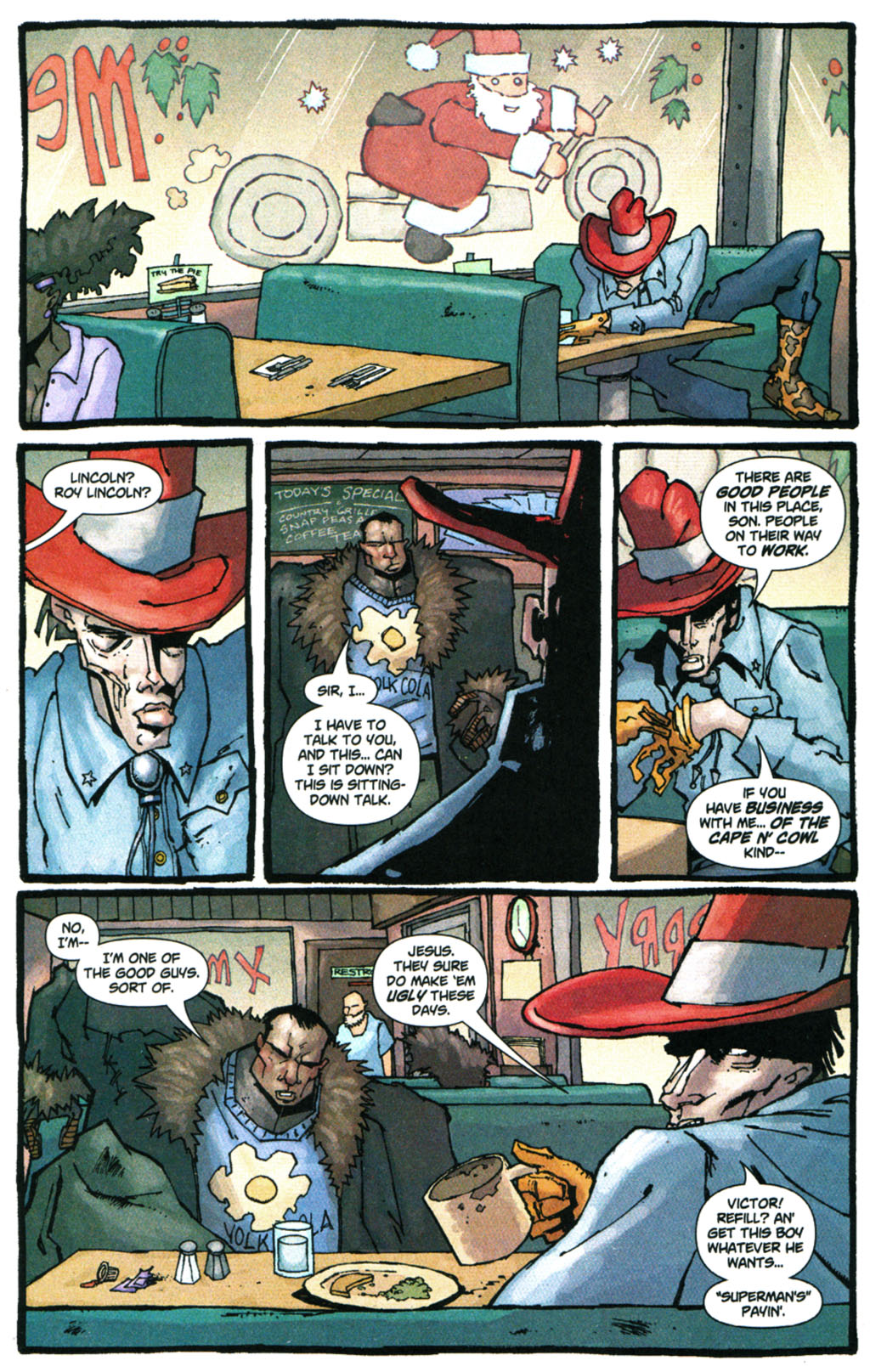 Read online Enginehead comic -  Issue #5 - 16