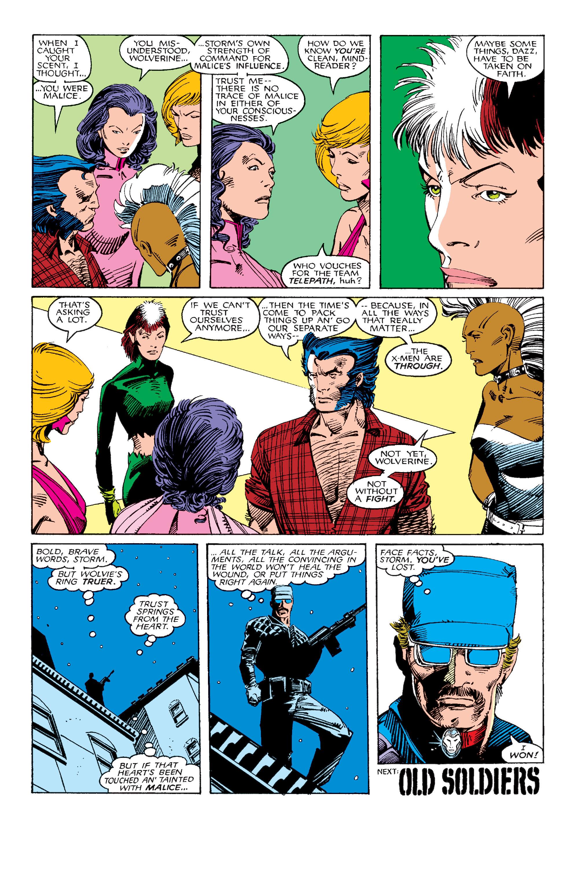 Read online Uncanny X-Men (1963) comic -  Issue #214 - 23