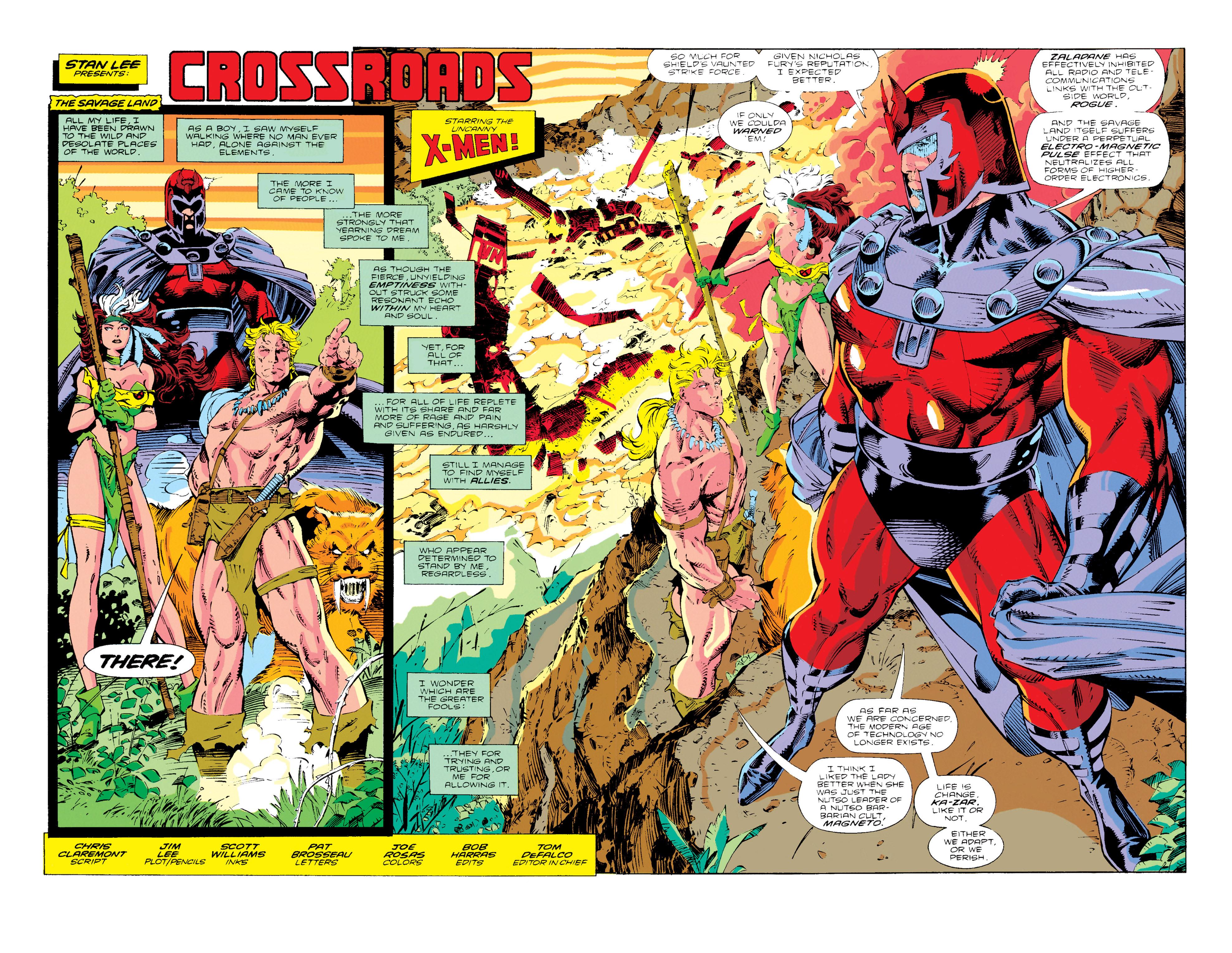 Read online Uncanny X-Men (1963) comic -  Issue #274 - 3