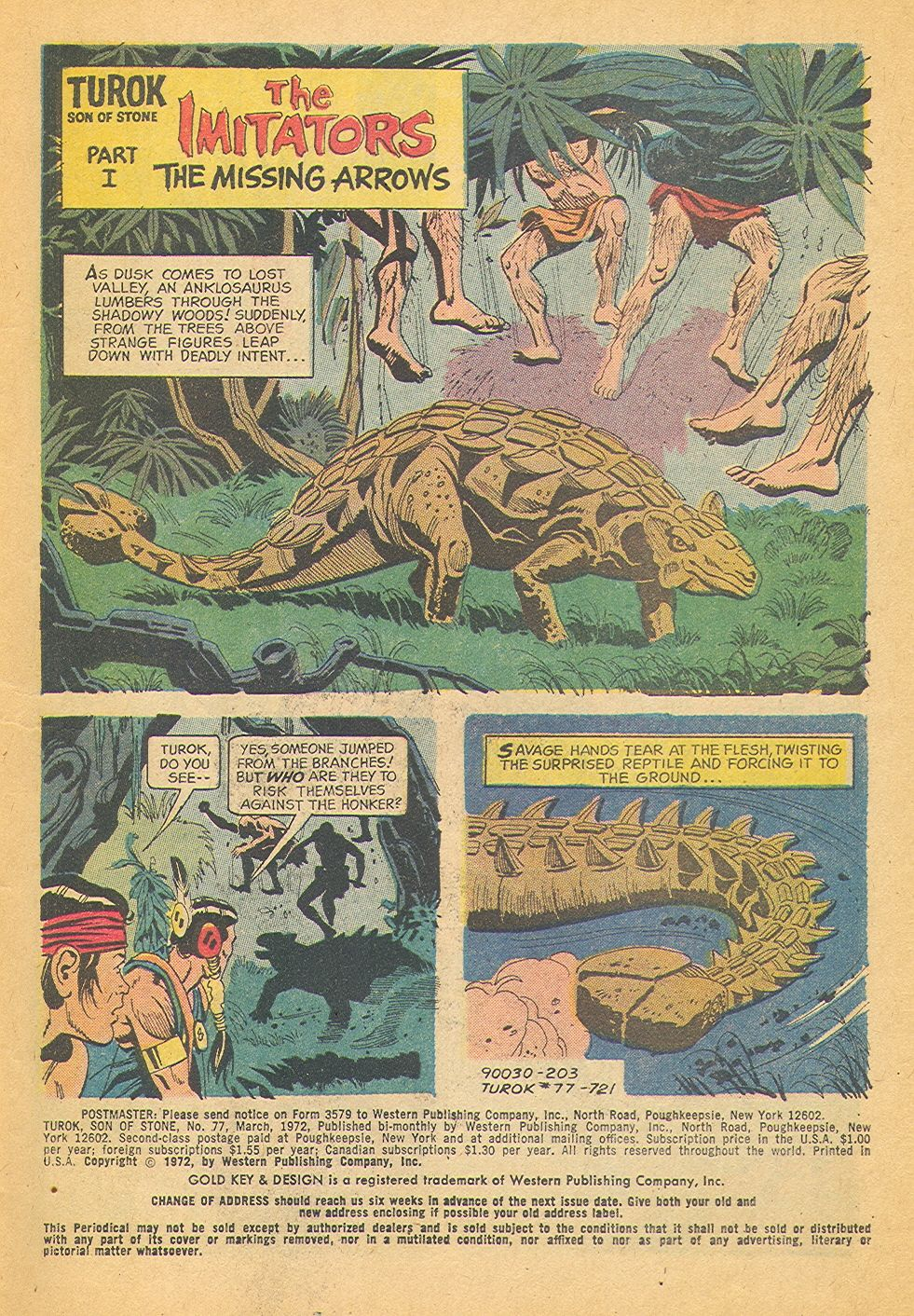 Read online Turok, Son of Stone comic -  Issue #77 - 3