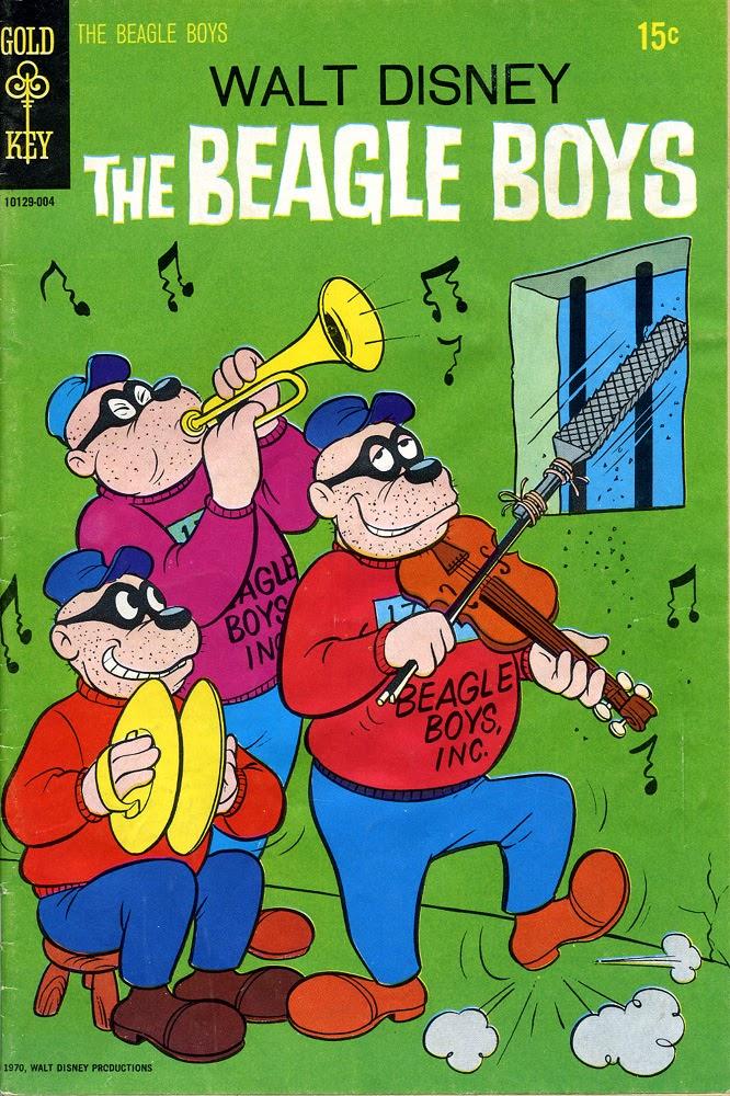 Walt Disney THE BEAGLE BOYS issue 9 - Page 1