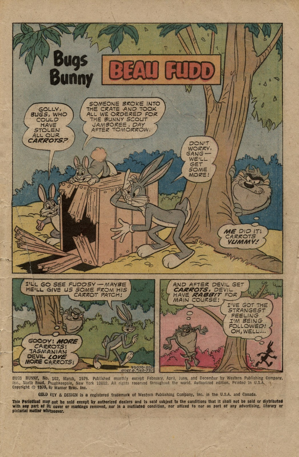 Bugs Bunny (1952) issue 162 - Page 3