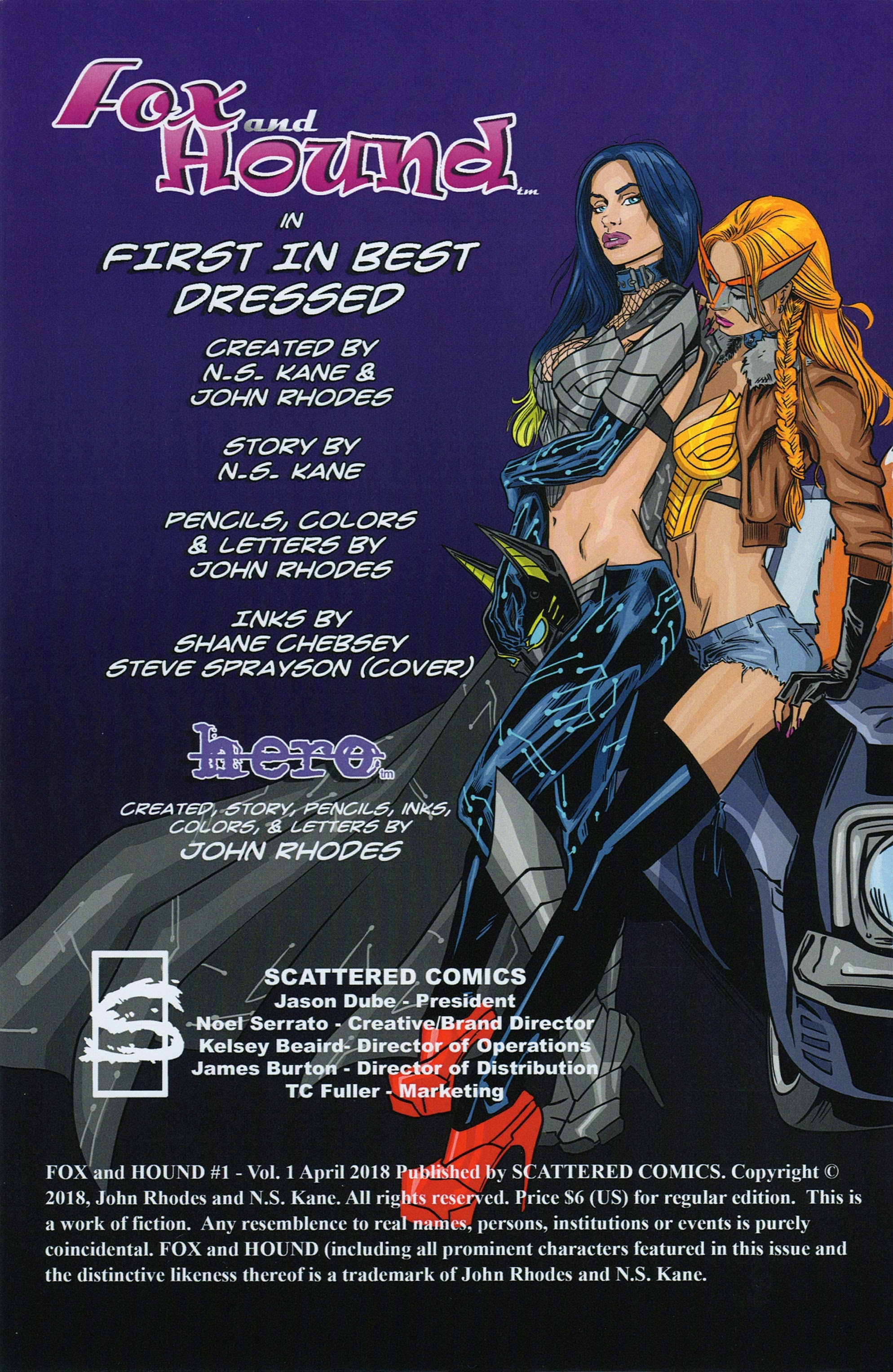 Read online Fox and Hound comic -  Issue #1 - 2