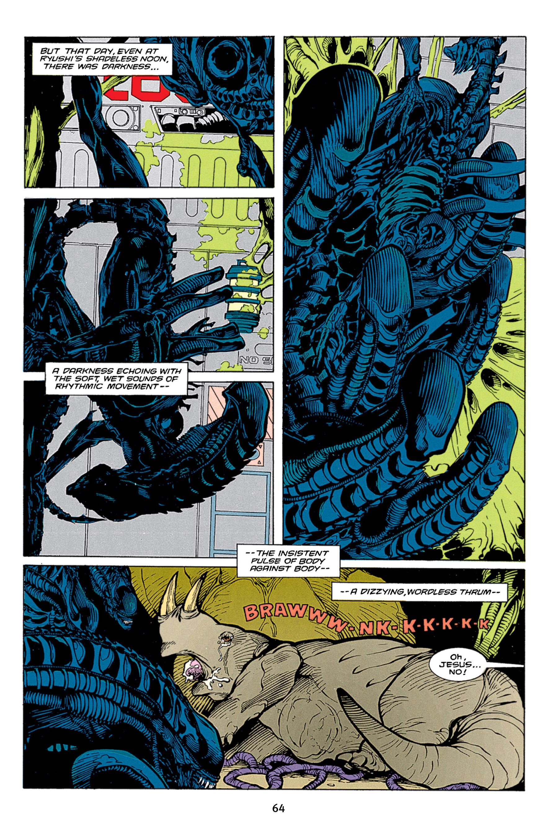 Read online Aliens vs. Predator Omnibus comic -  Issue # _TPB 1 Part 1 - 64