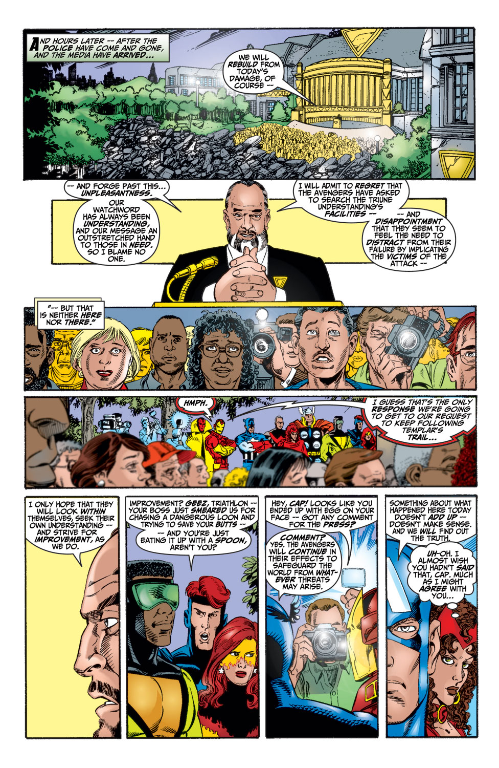 Read online Avengers (1998) comic -  Issue #15 - 20