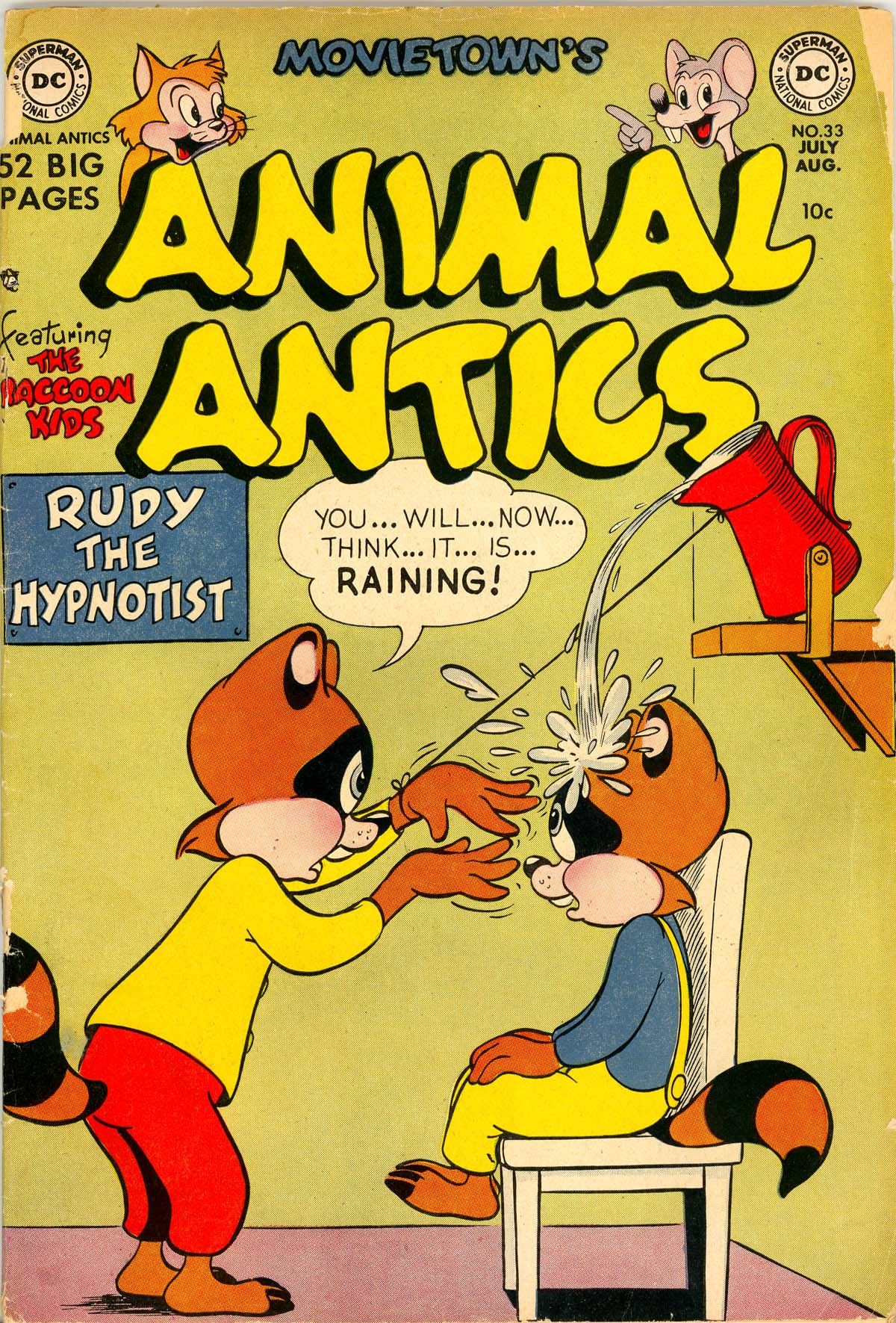 Read online Animal Antics comic -  Issue #33 - 1