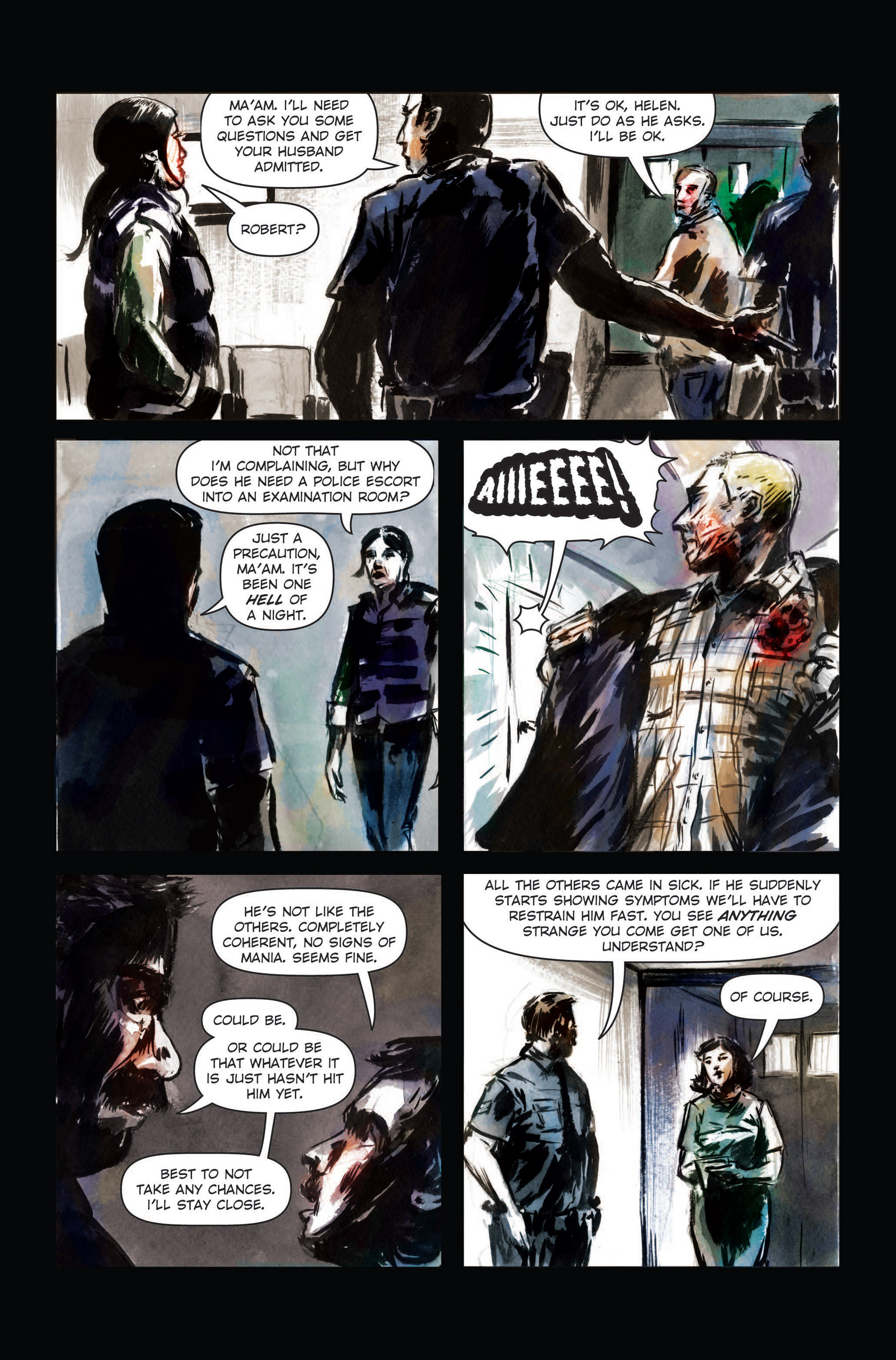Read online The Final Plague comic -  Issue #3 - 14