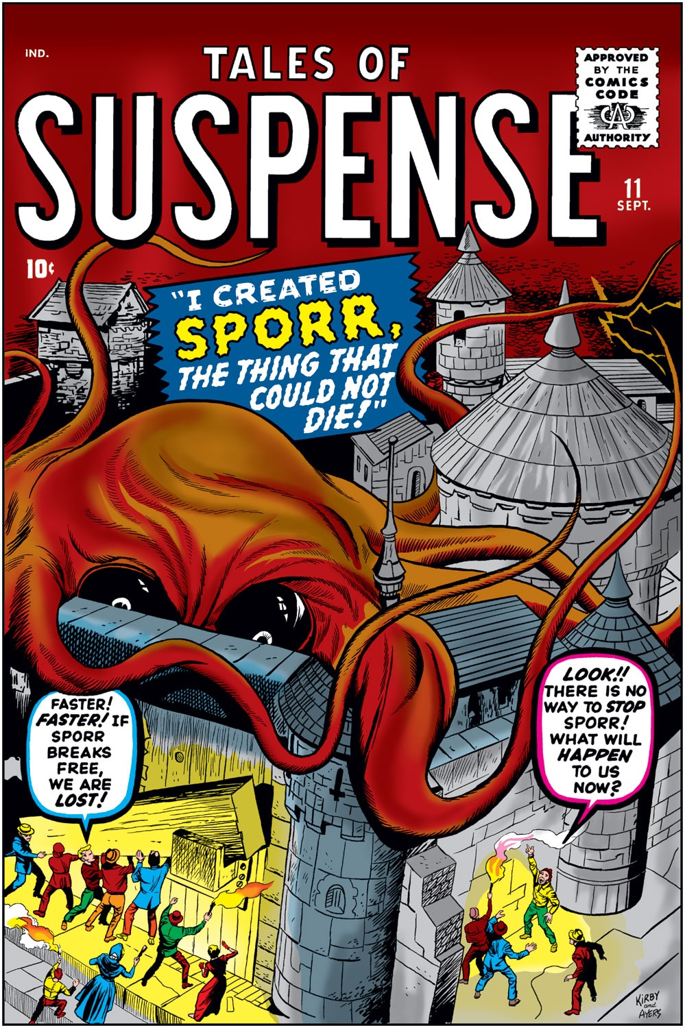 Tales of Suspense (1959) issue 11 - Page 1