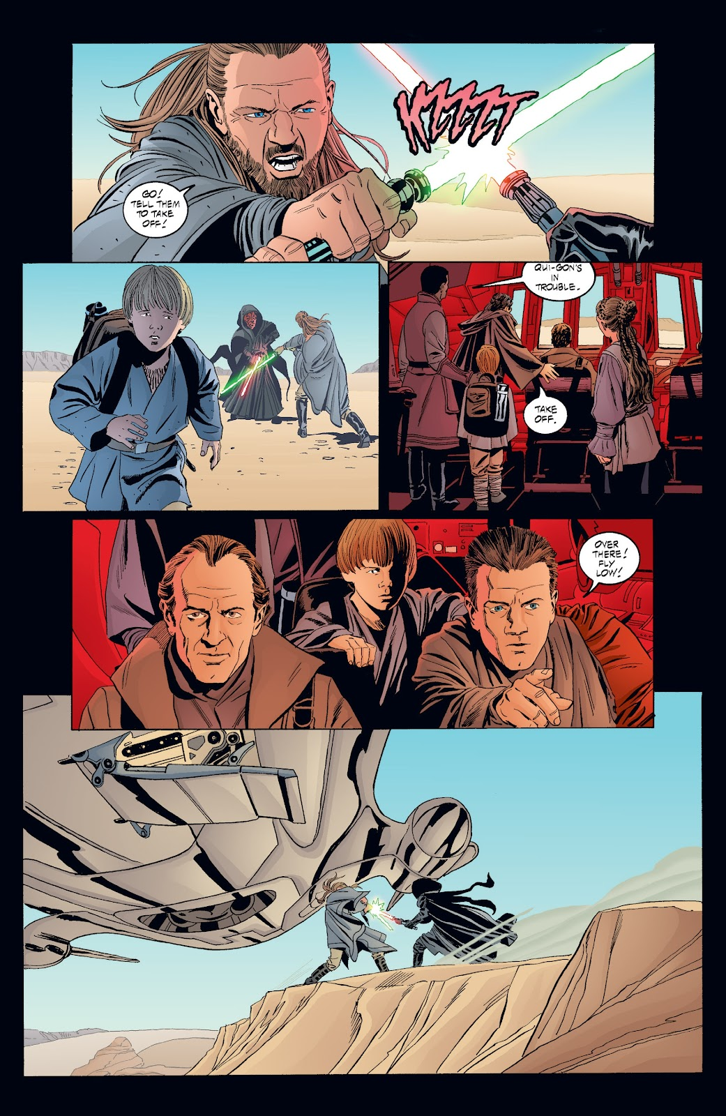 Read online Star Wars Legends: Rise of the Sith - Epic Collection comic -  Issue # TPB 2 (Part 3) - 95