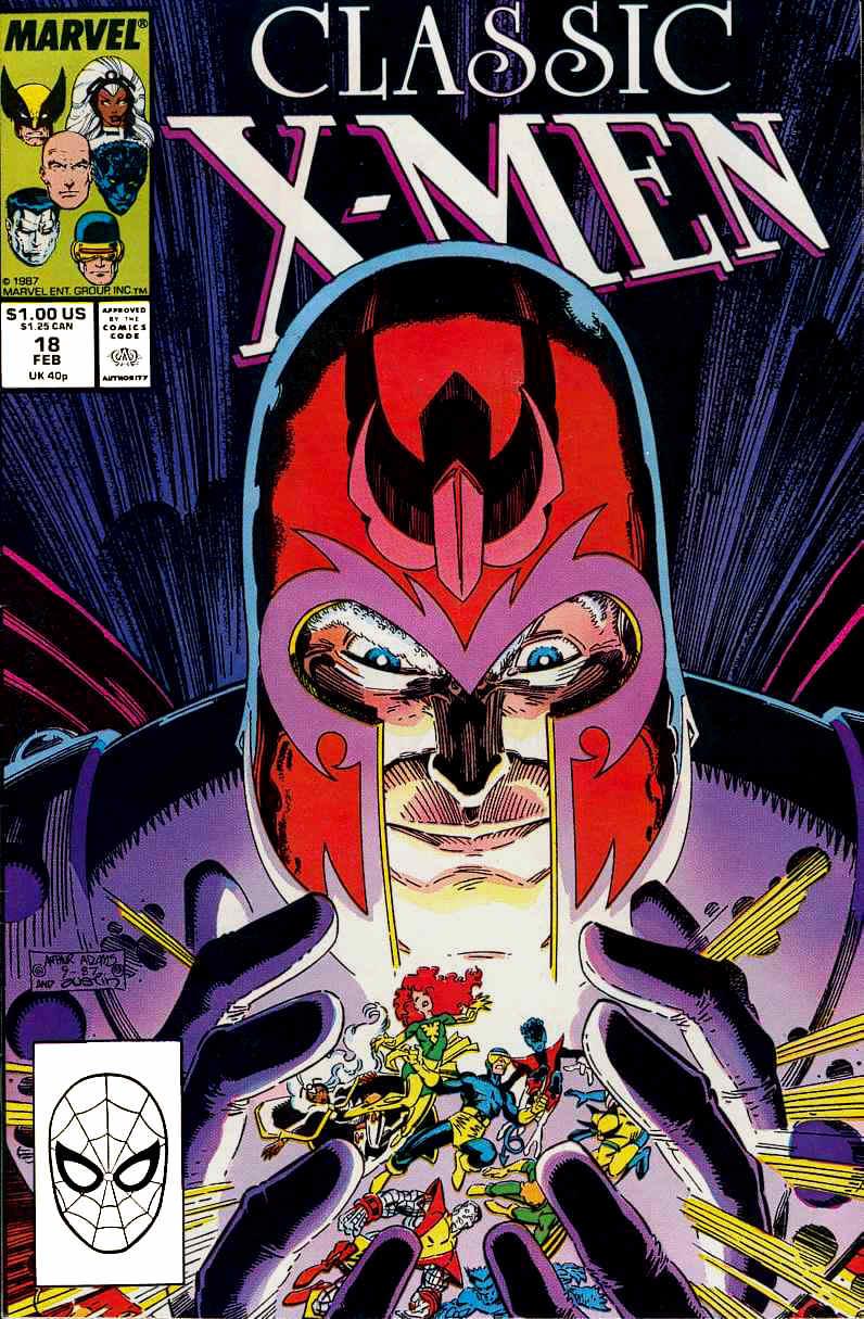 Classic X-Men 18 Page 1