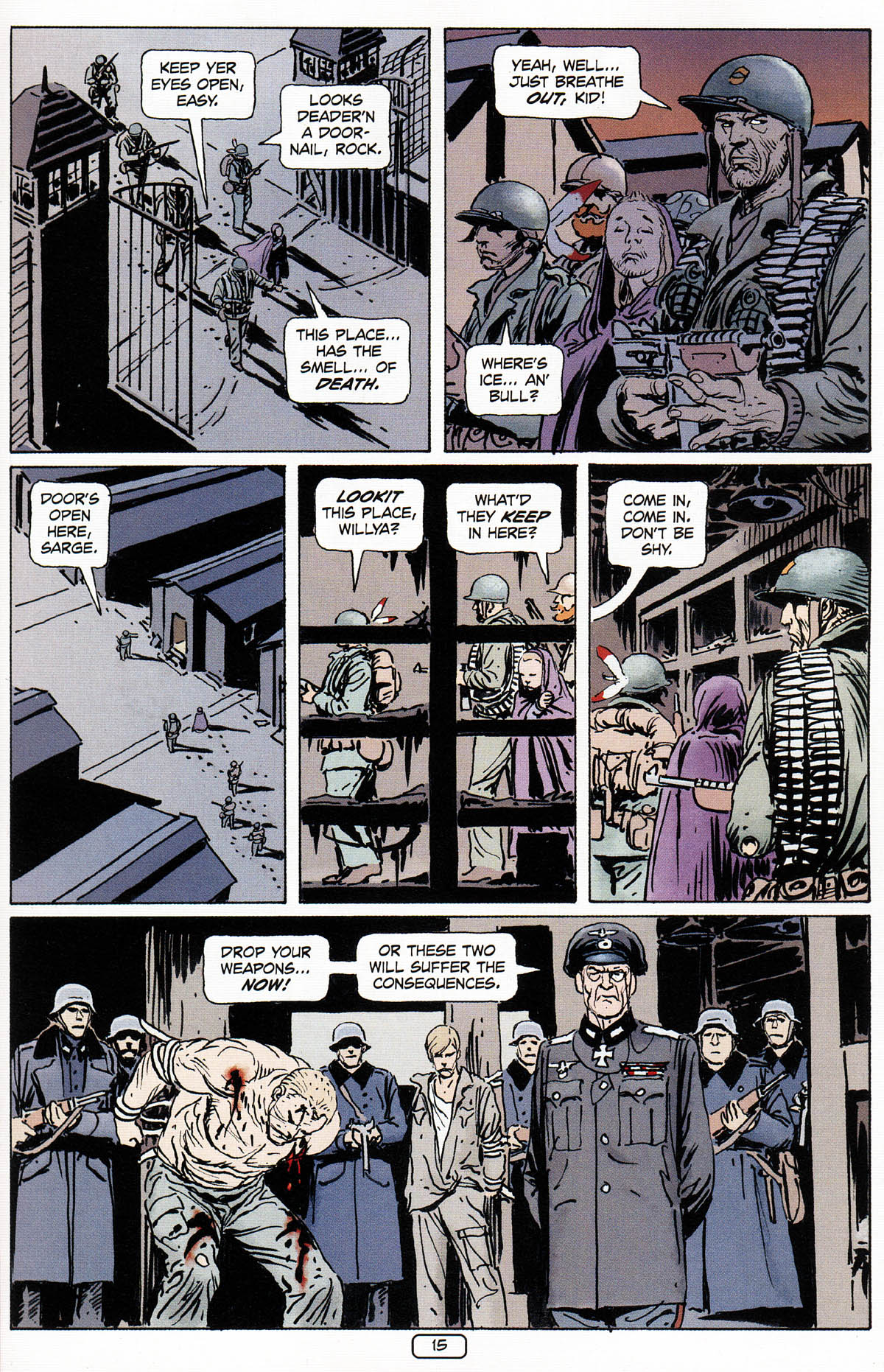 Read online Sgt. Rock: The Prophecy comic -  Issue #3 - 16