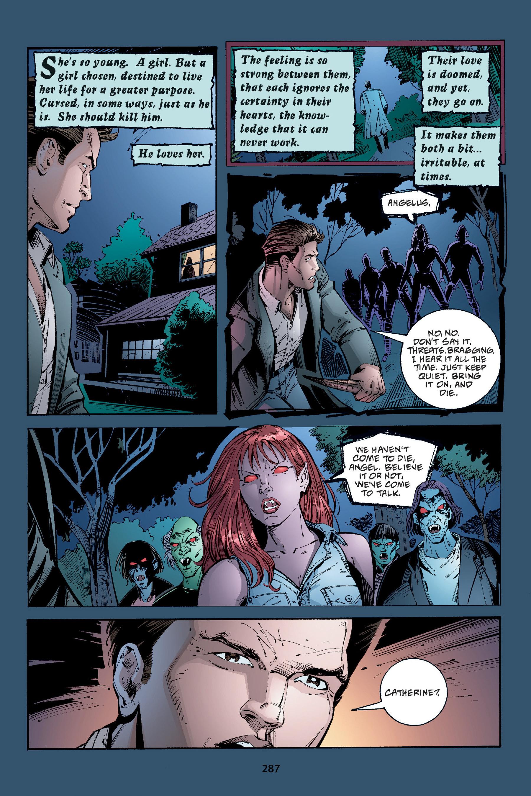 Read online Buffy the Vampire Slayer: Omnibus comic -  Issue # TPB 4 - 284