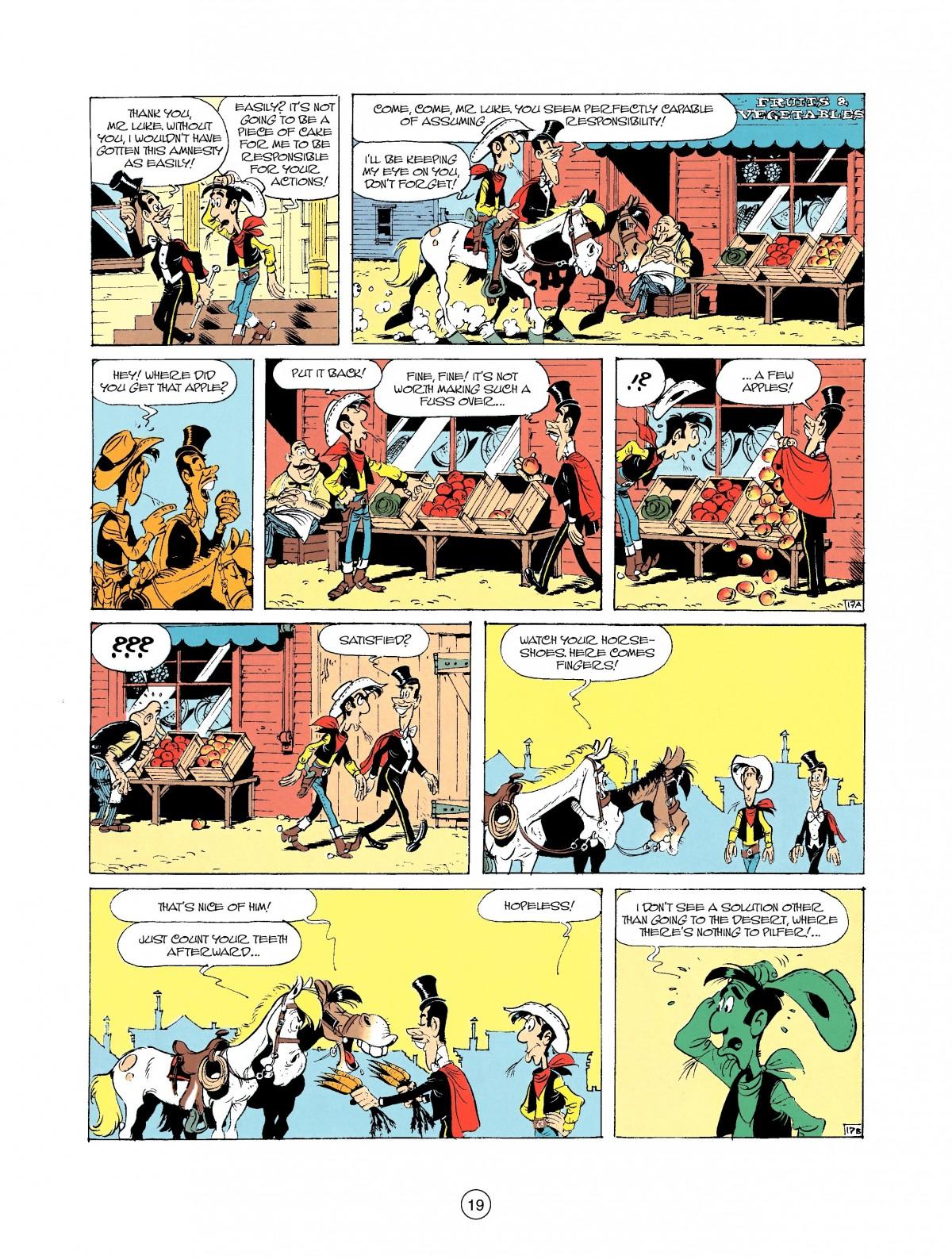 Read online A Lucky Luke Adventure comic -  Issue #37 - 19