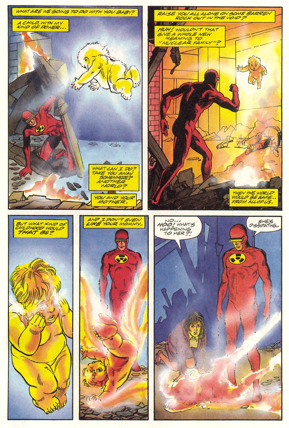 Read online Solar, Man of the Atom comic -  Issue #9 - 36