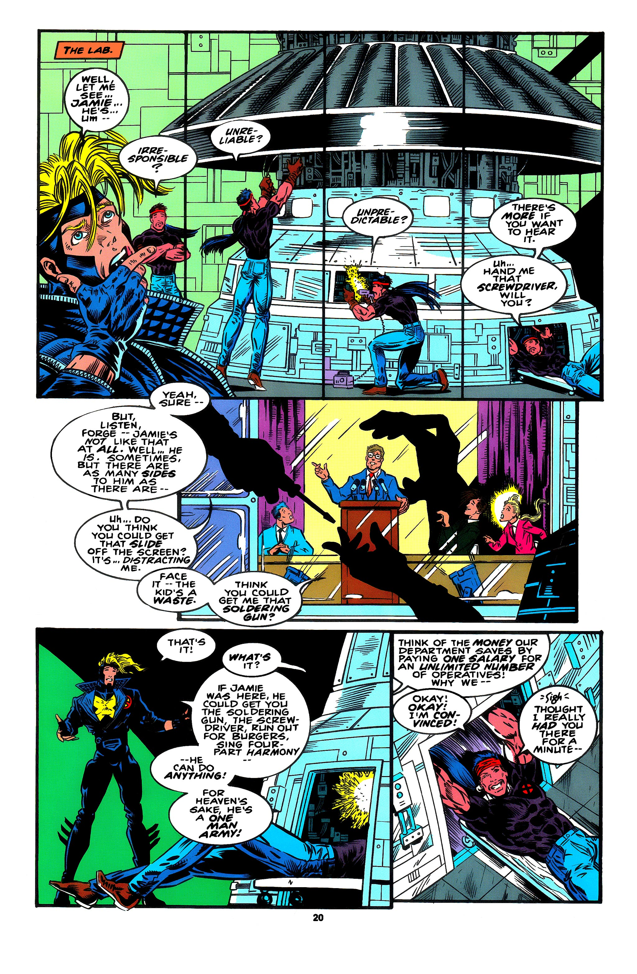 Read online X-Factor (1986) comic -  Issue #95 - 13