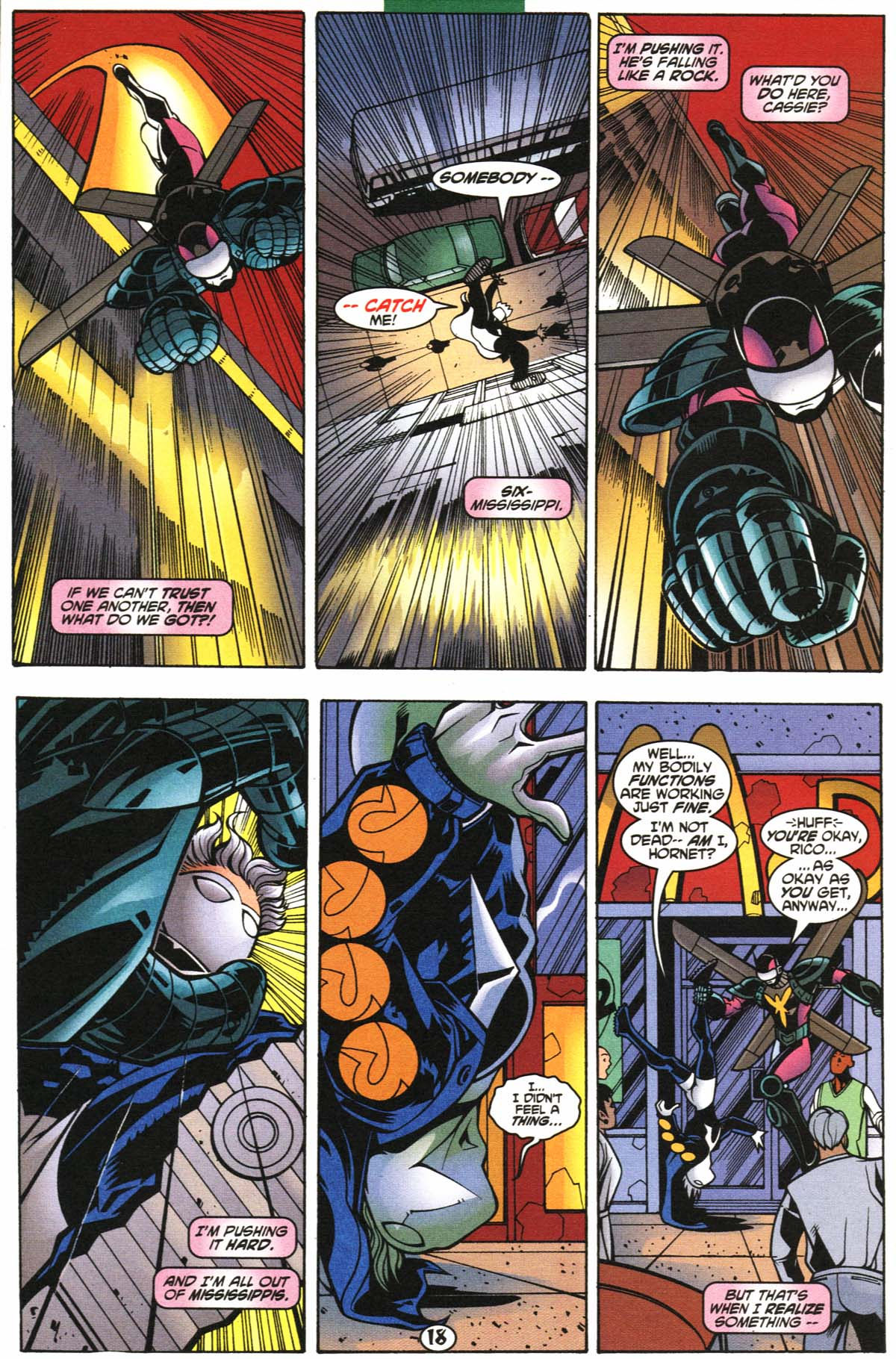 Read online Slingers comic -  Issue #6 - 19