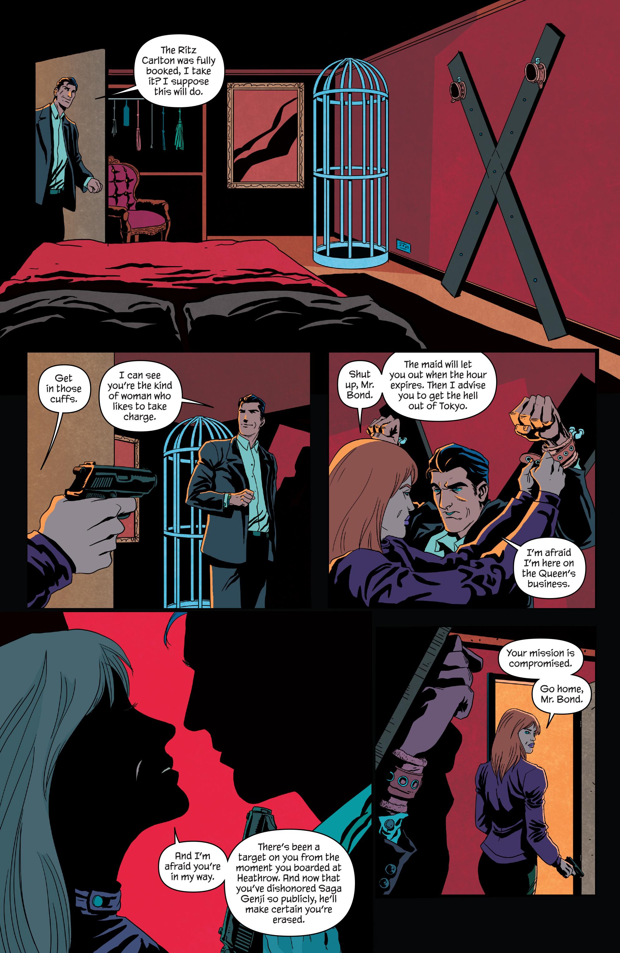 Read online James Bond (2017) comic -  Issue #3 - 4