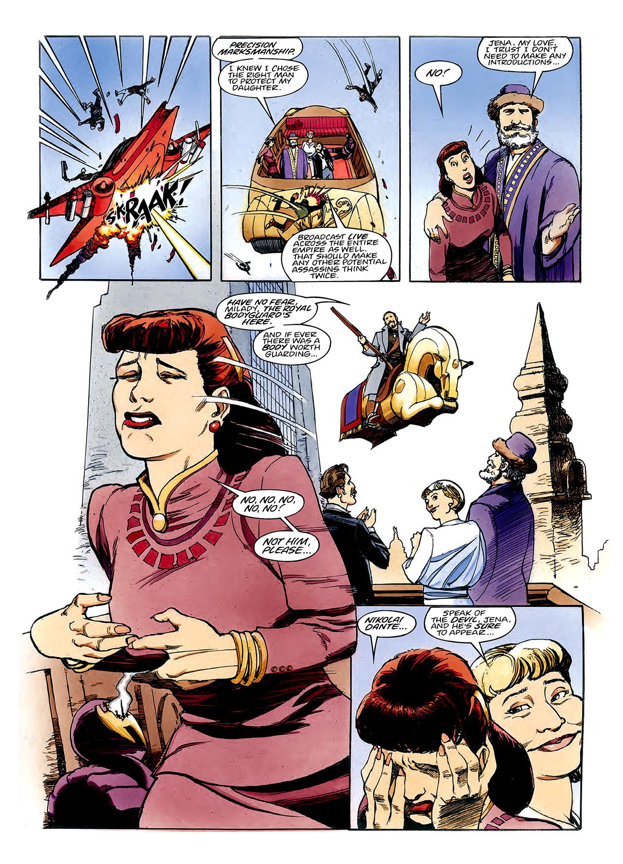 Read online Nikolai Dante comic -  Issue # TPB 3 - 64