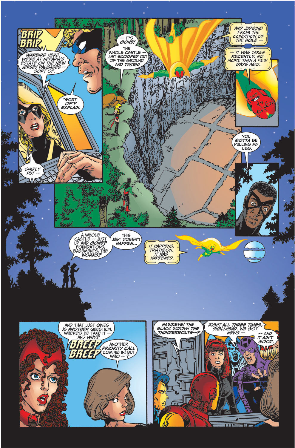 Read online Avengers (1998) comic -  Issue #33 - 21
