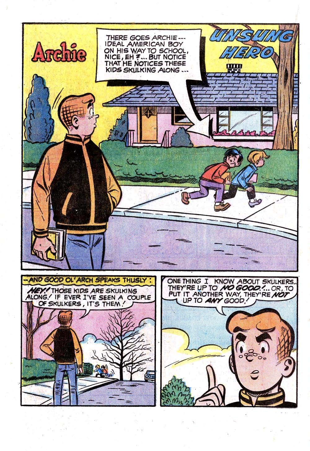 Read online Archie (1960) comic -  Issue #207 - 20