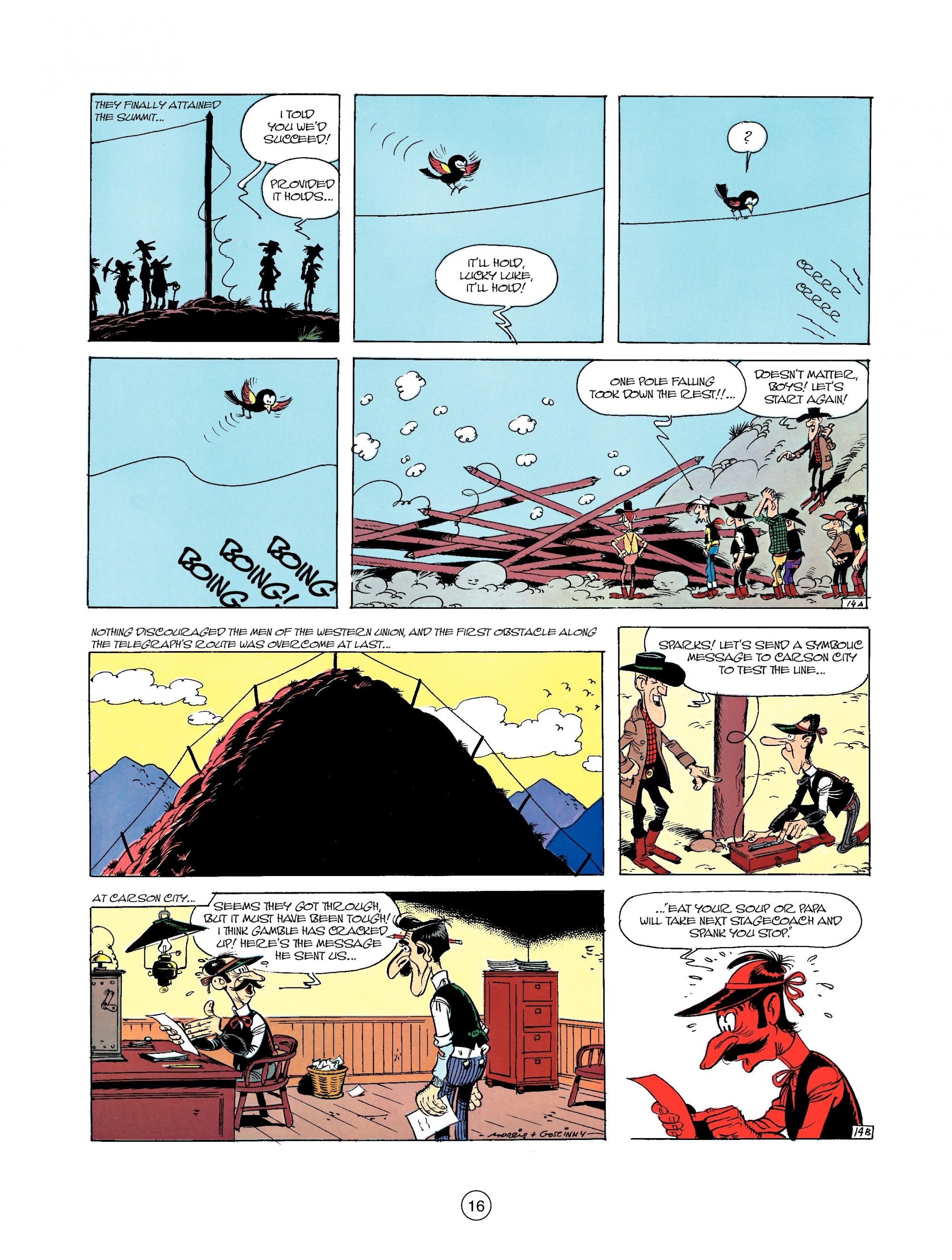 Read online A Lucky Luke Adventure comic -  Issue #35 - 16