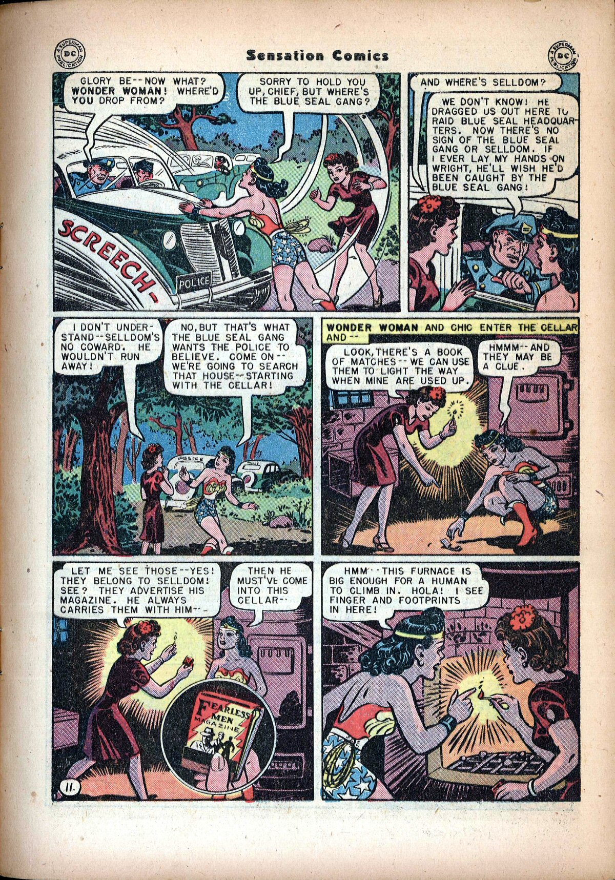 Read online Sensation (Mystery) Comics comic -  Issue #72 - 13