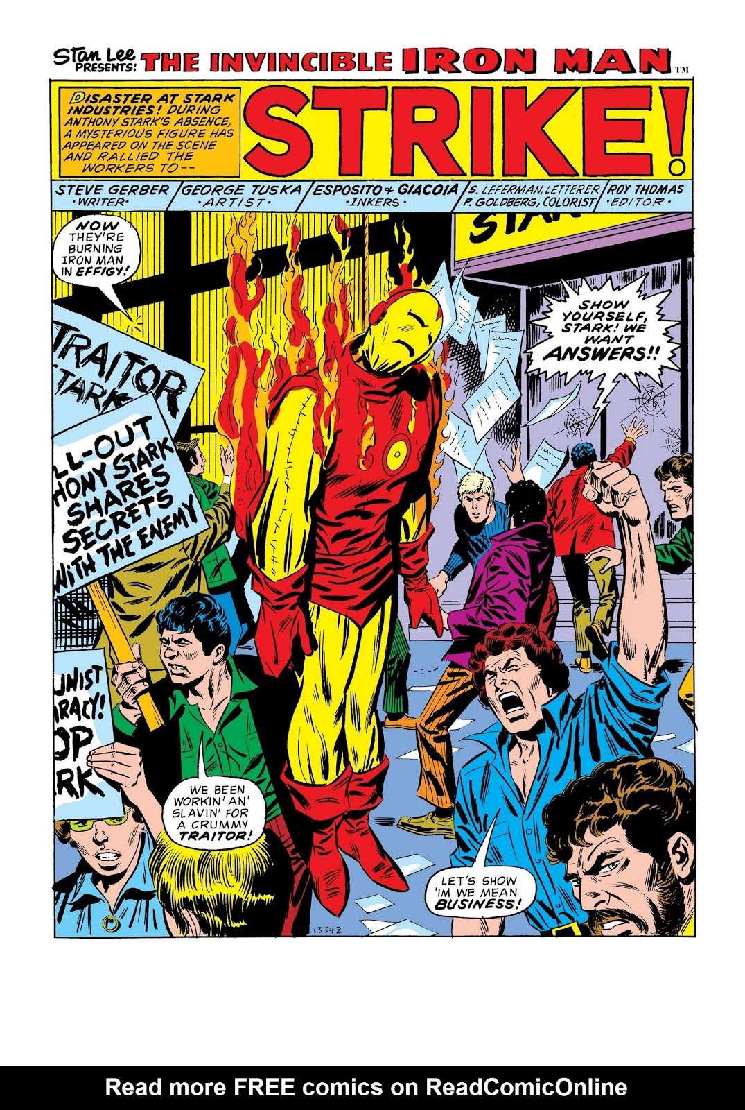 Read online Marvel Masterworks: The Invincible Iron Man comic -  Issue # TPB 9 (Part 1) - 71